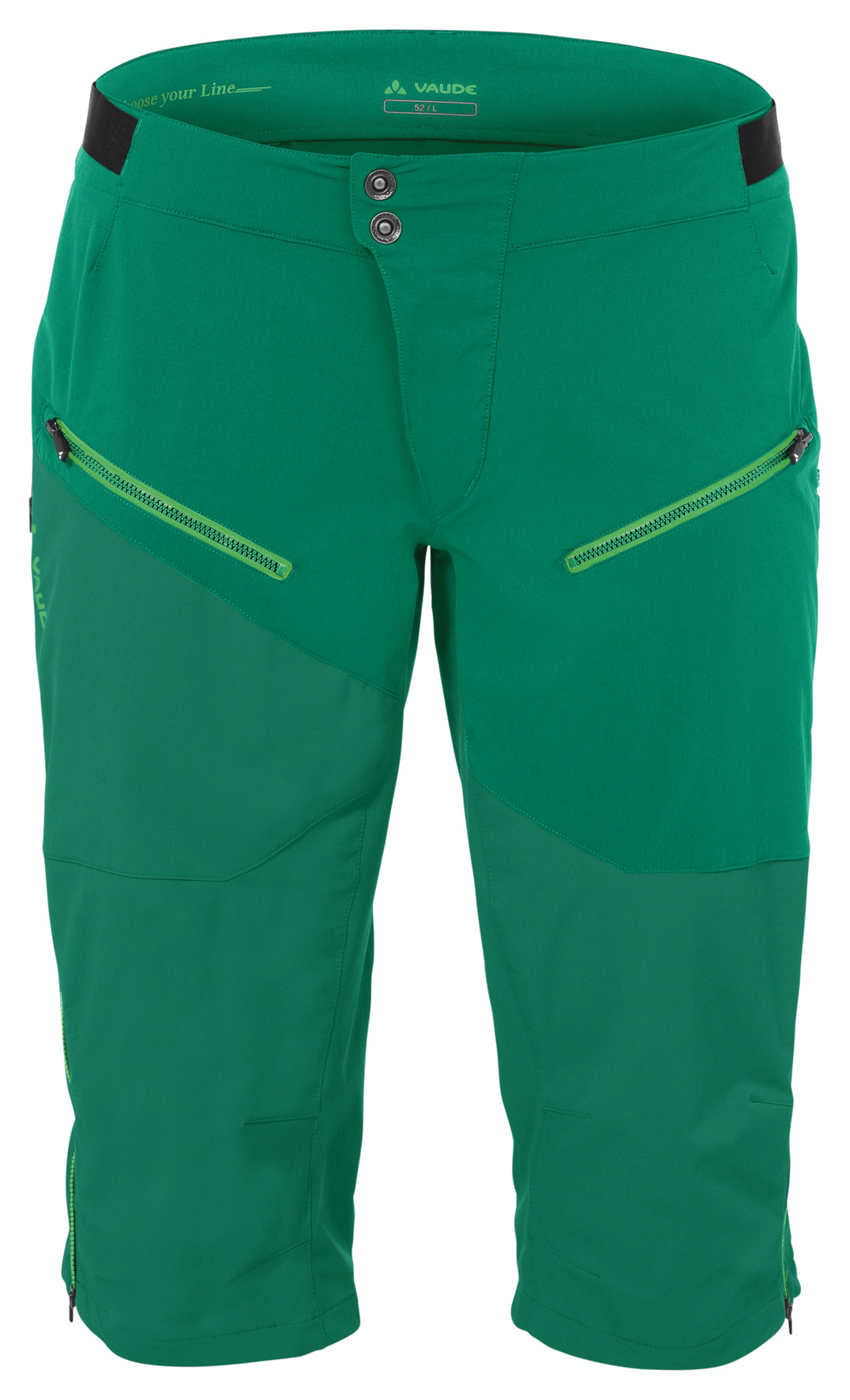 Men´s Garbanzo Shorts yucca green Größe L - schneider-sports