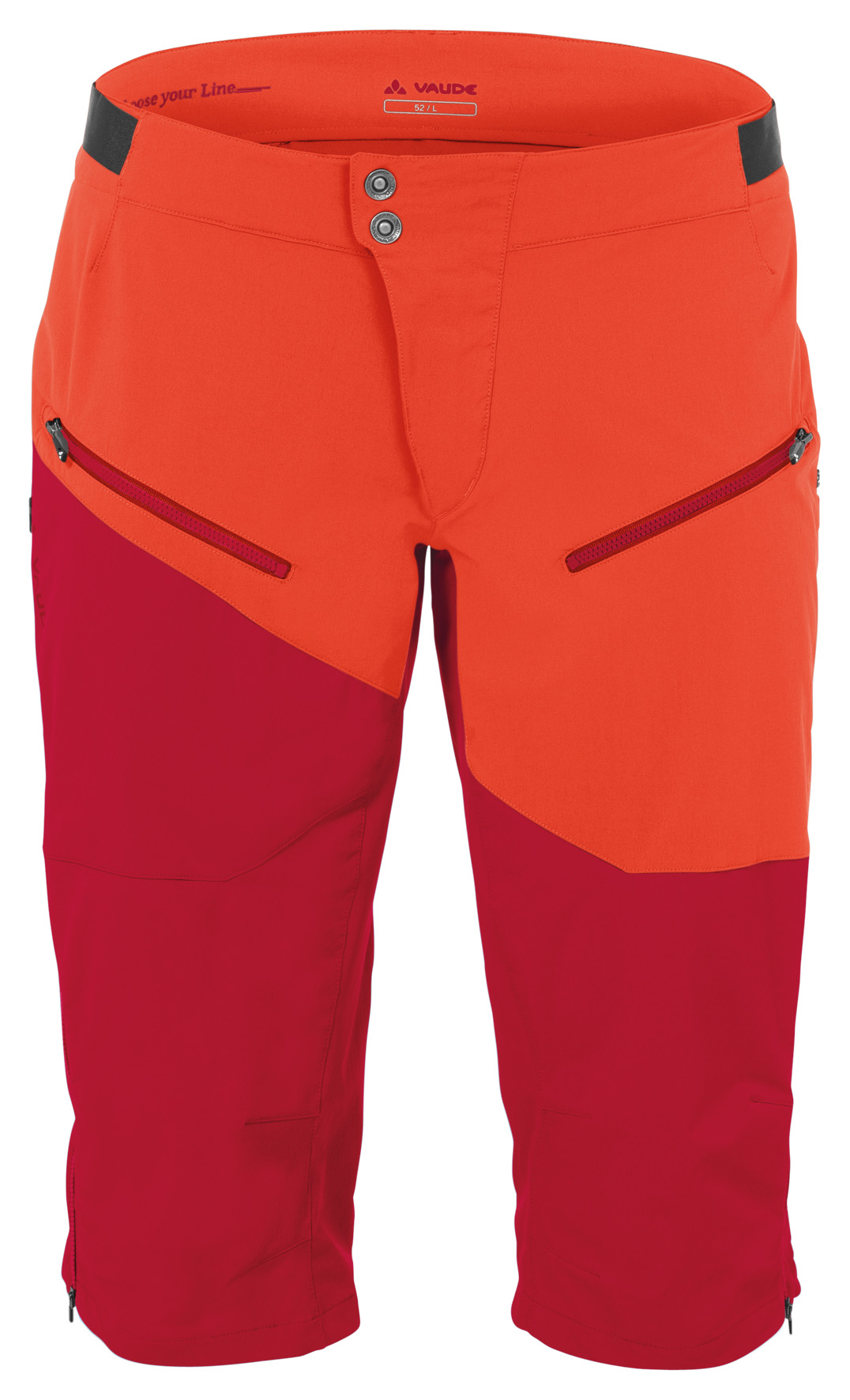 Men´s Garbanzo Shorts indian red Größe L - schneider-sports