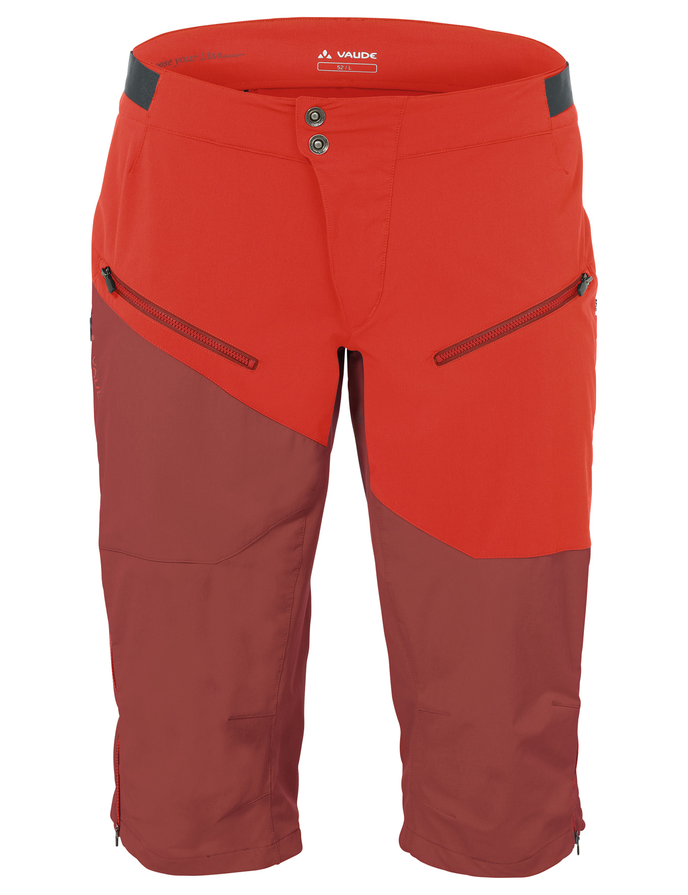 VAUDE Men´s Garbanzo Shorts redwood Größe L - schneider-sports