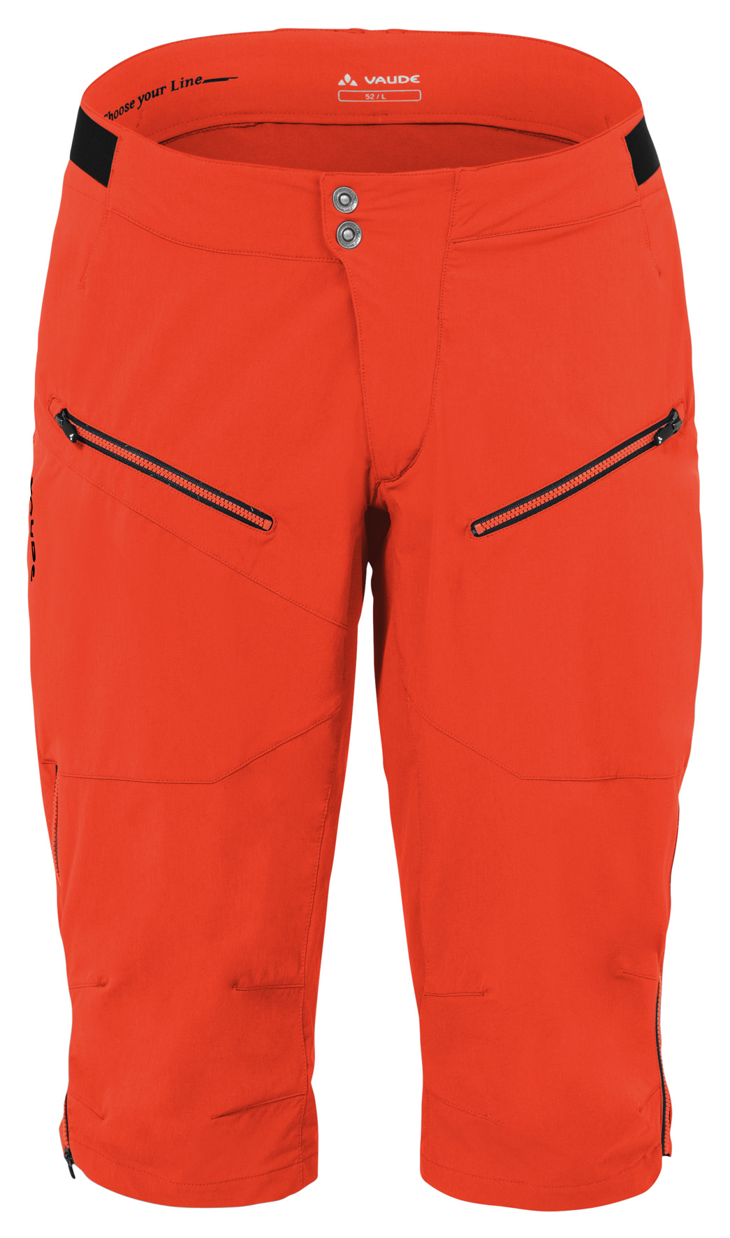 Men´s Moab Shorts glowing red Größe L - schneider-sports