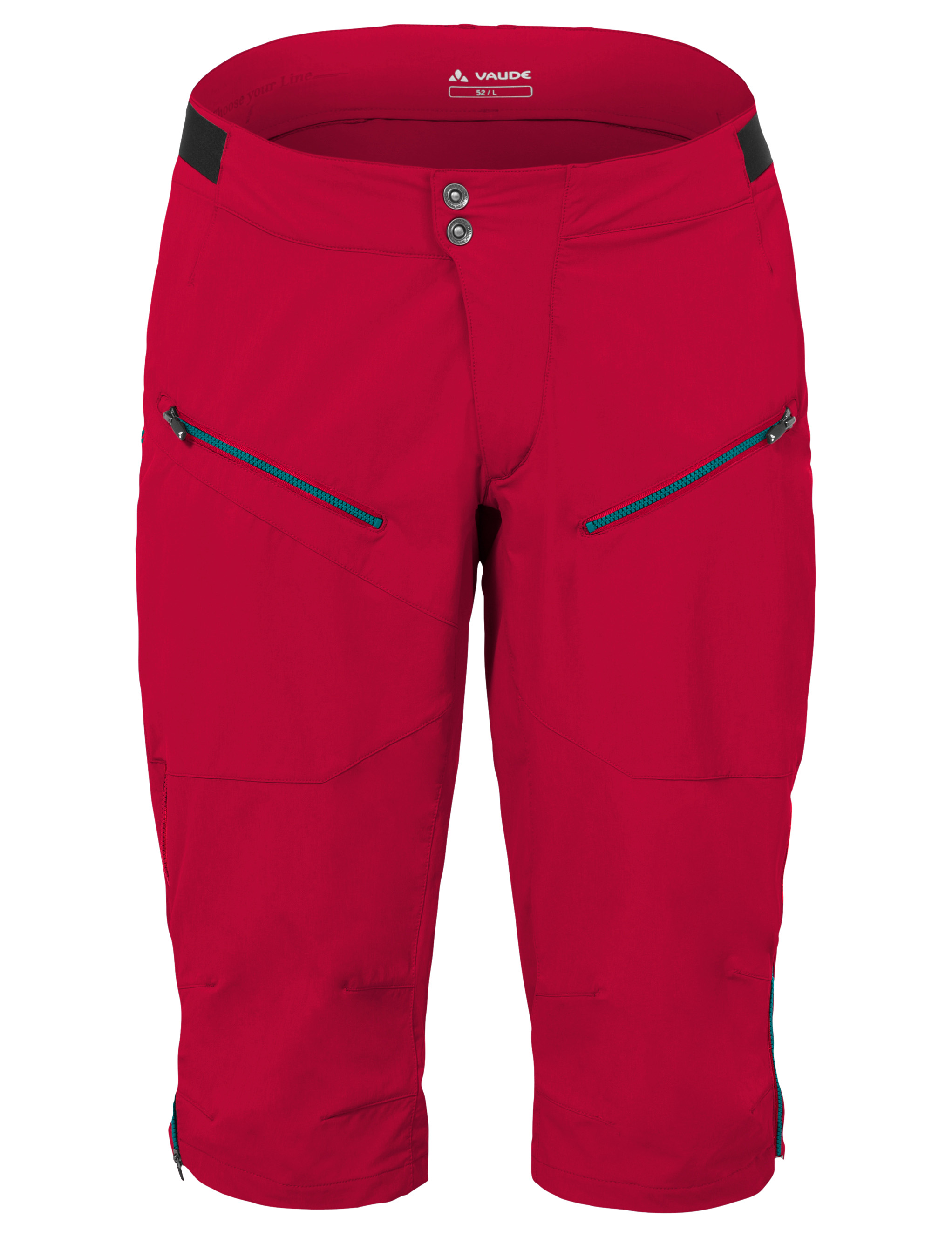 VAUDE Men´s Moab Shorts indian red Größe L - schneider-sports