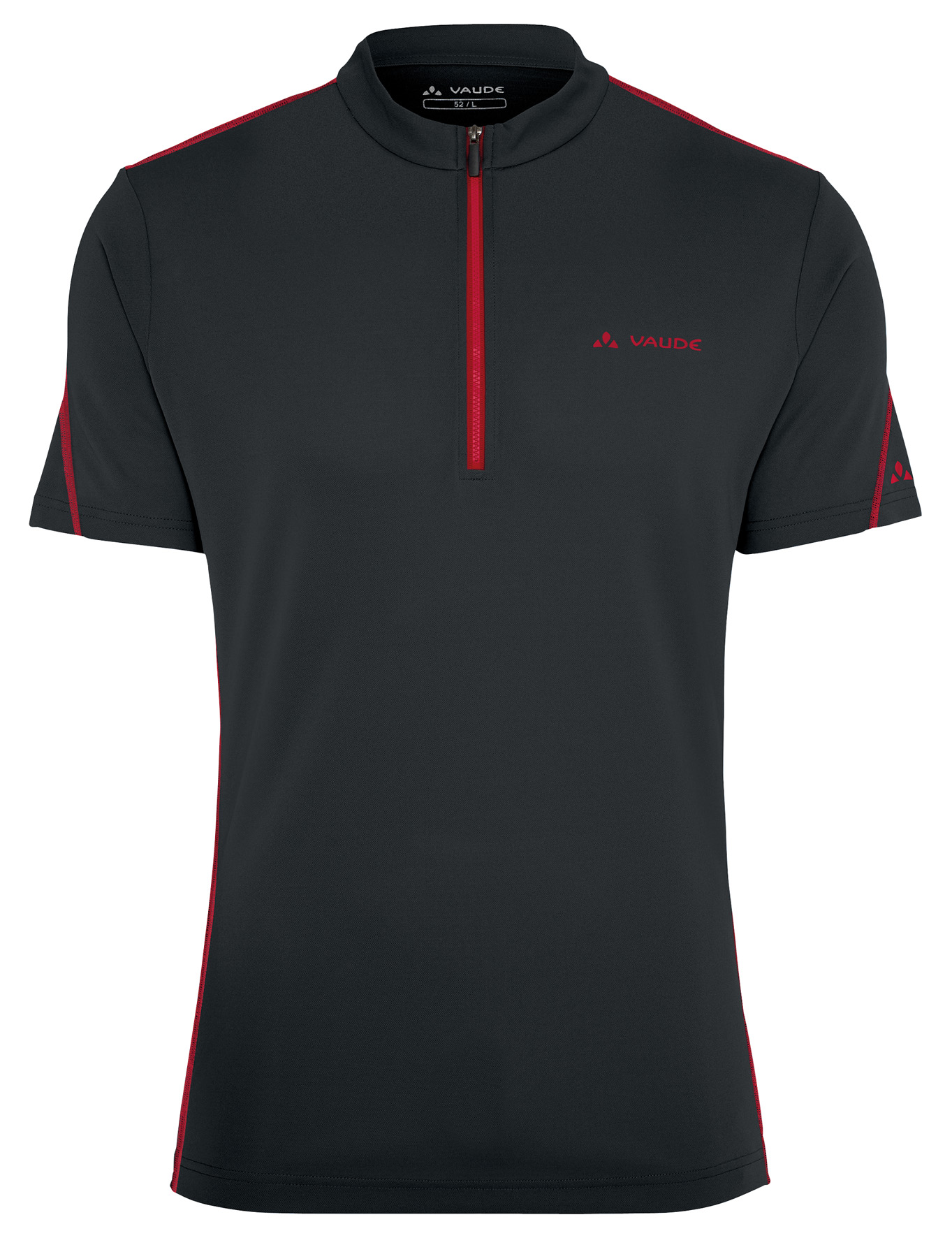 VAUDE Men´s Tamaro Shirt black/red Größe S - schneider-sports