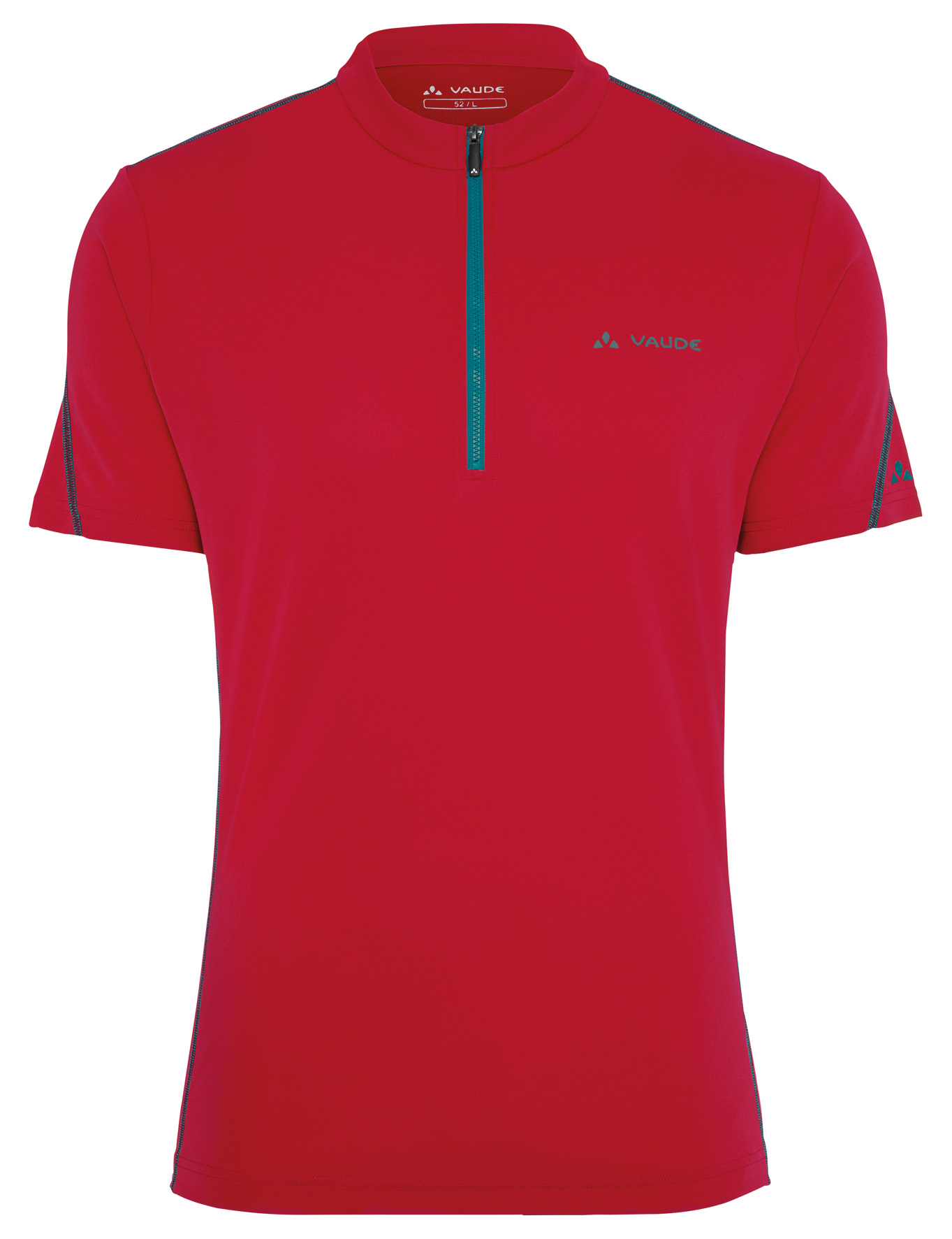 VAUDE Men´s Tamaro Shirt indian red/spinel Größe S - schneider-sports