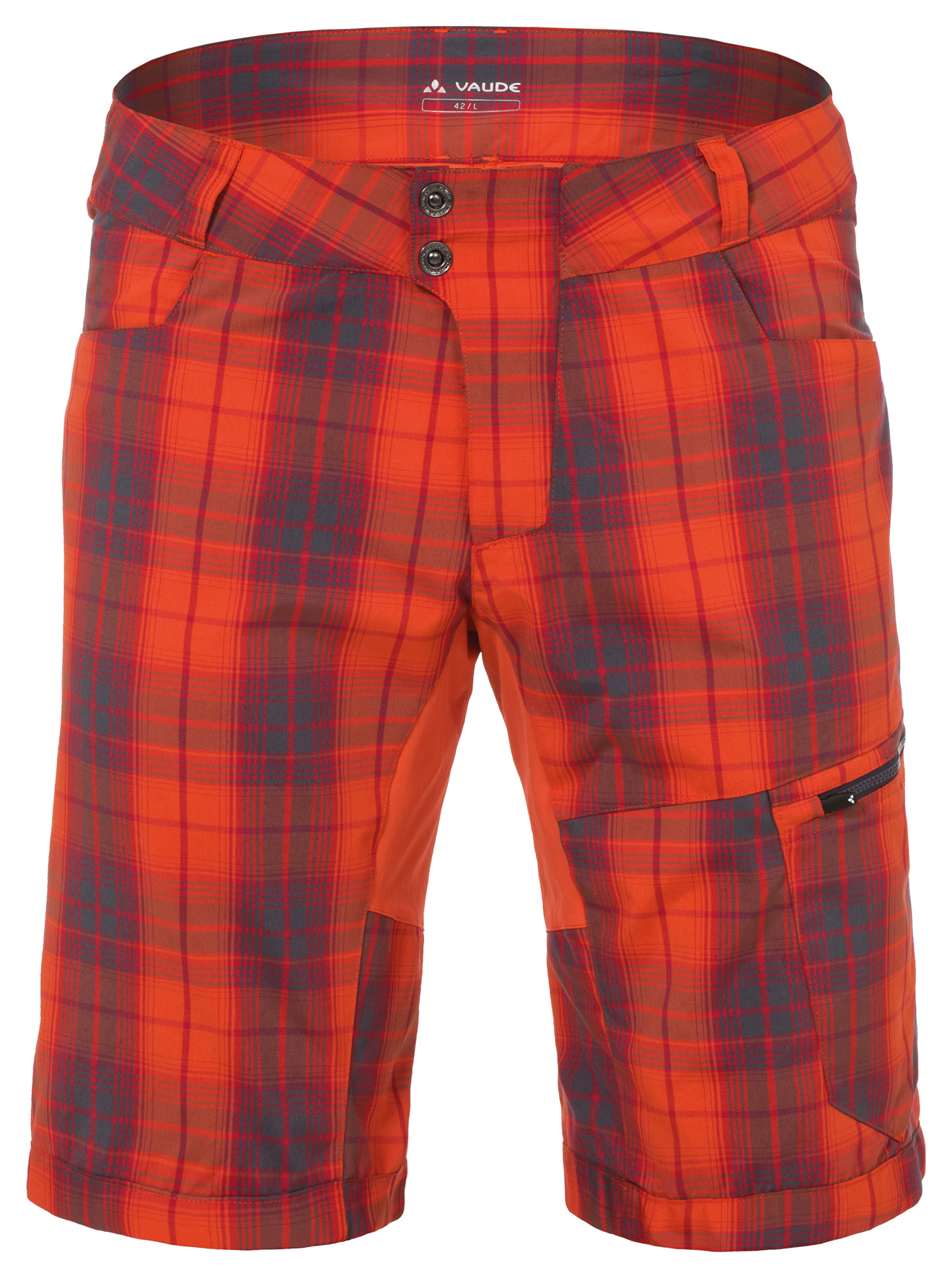 Men´s Craggy Pants II glowing red Größe XS - schneider-sports