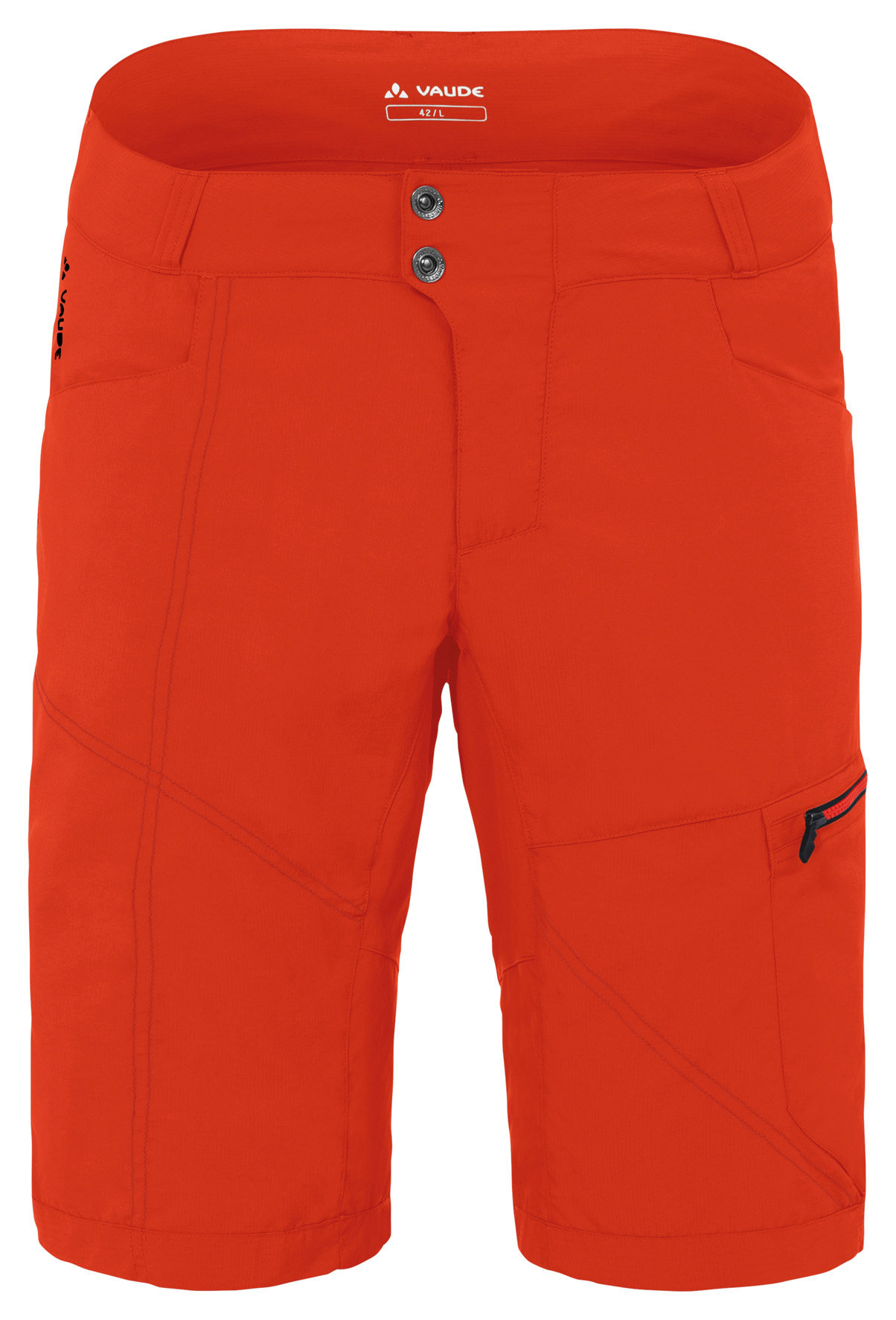 Men´s Tamaro Shorts glowing red Größe L - schneider-sports