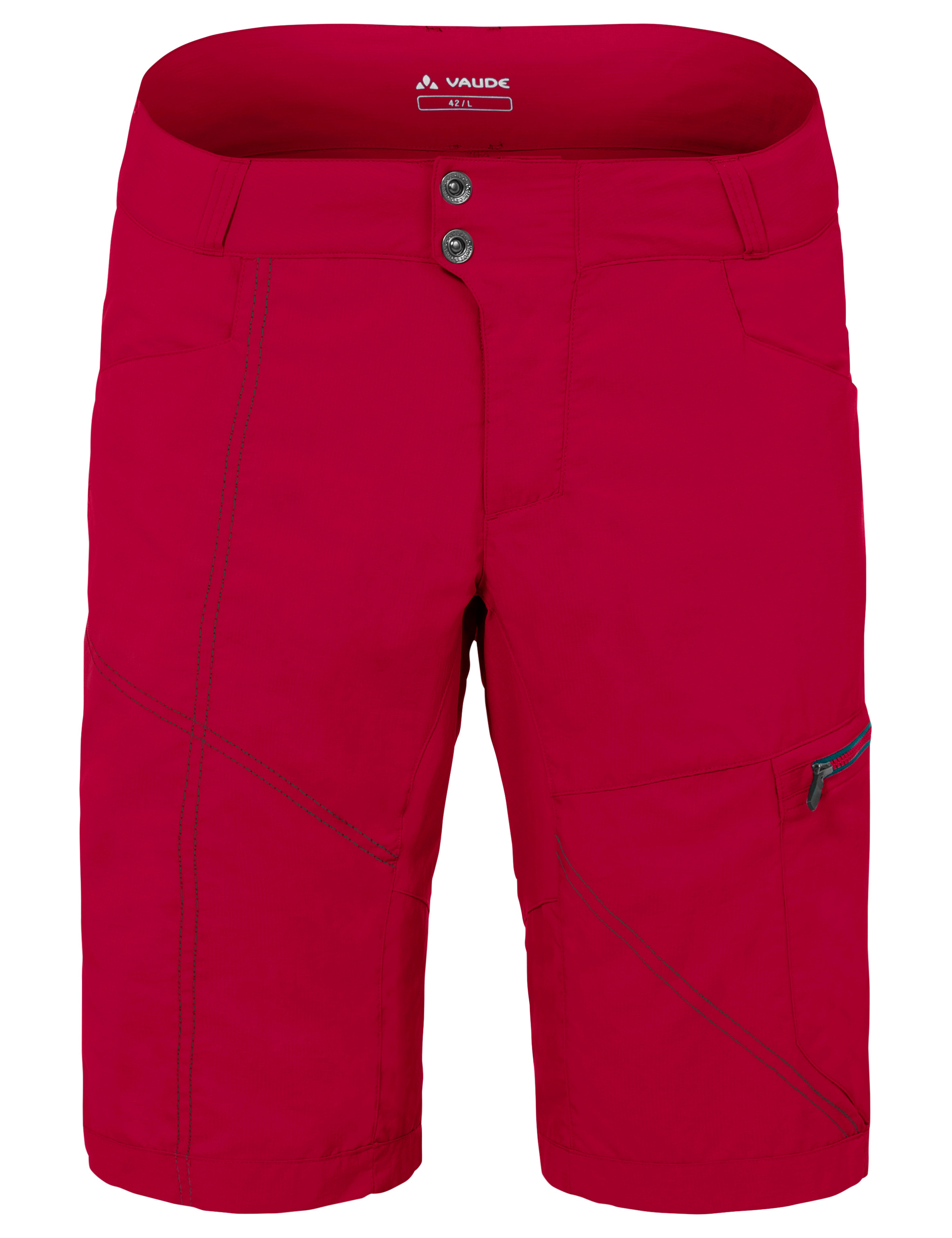 VAUDE Men´s Tamaro Shorts indian red Größe L - schneider-sports