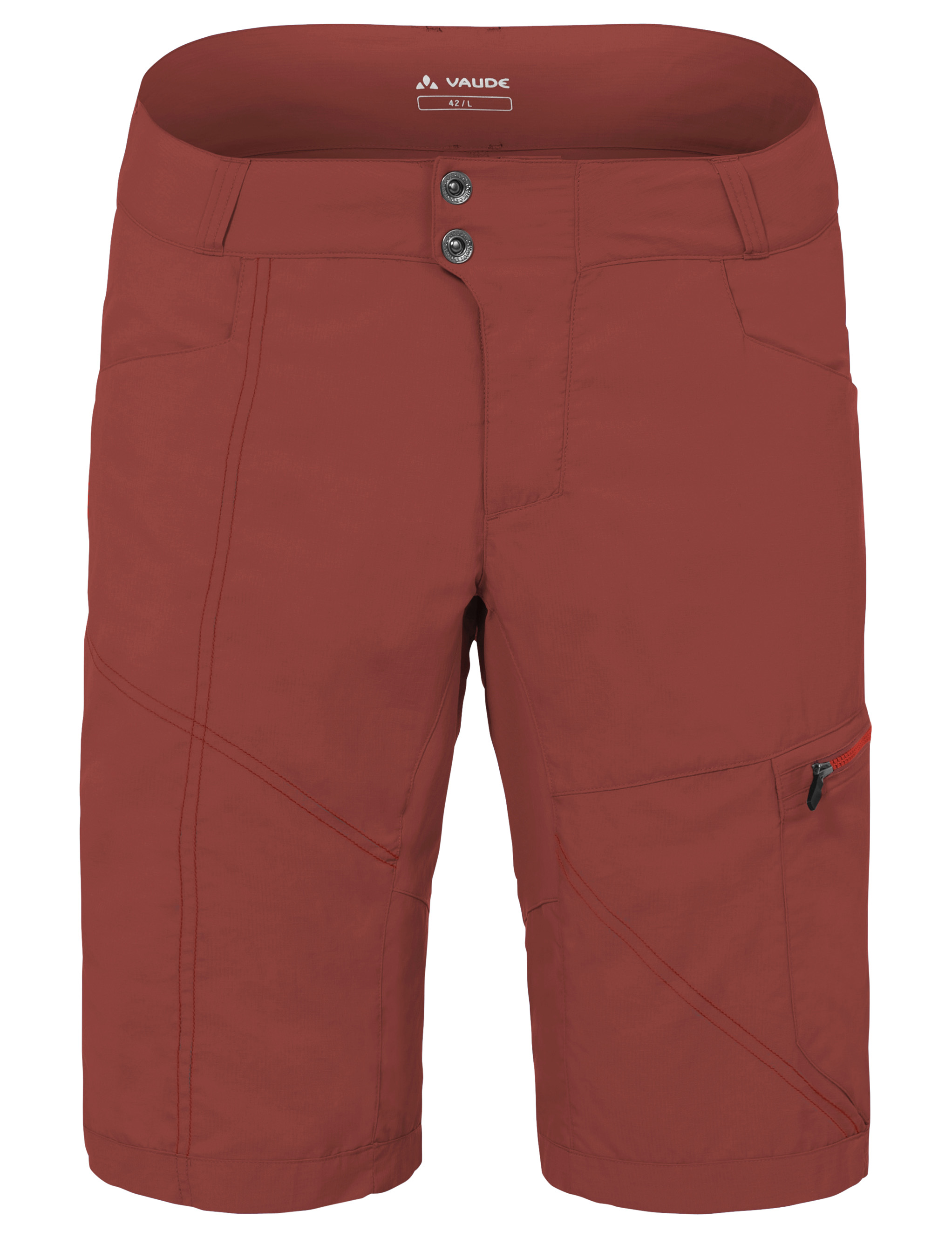 VAUDE Men´s Tamaro Shorts redwood Größe S - schneider-sports
