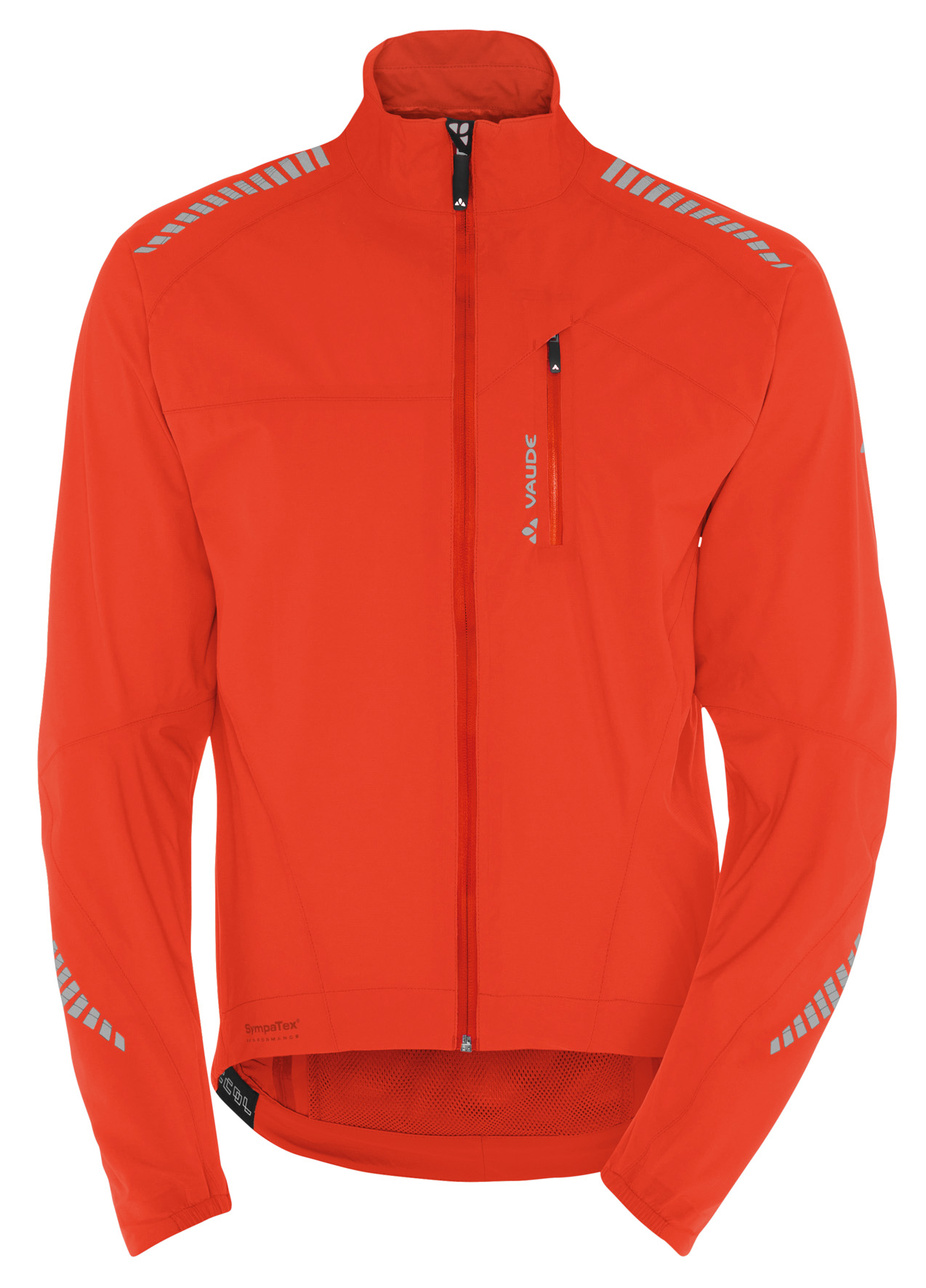 VAUDE Men´s Sympapro Jacket glowing red Größe M - schneider-sports