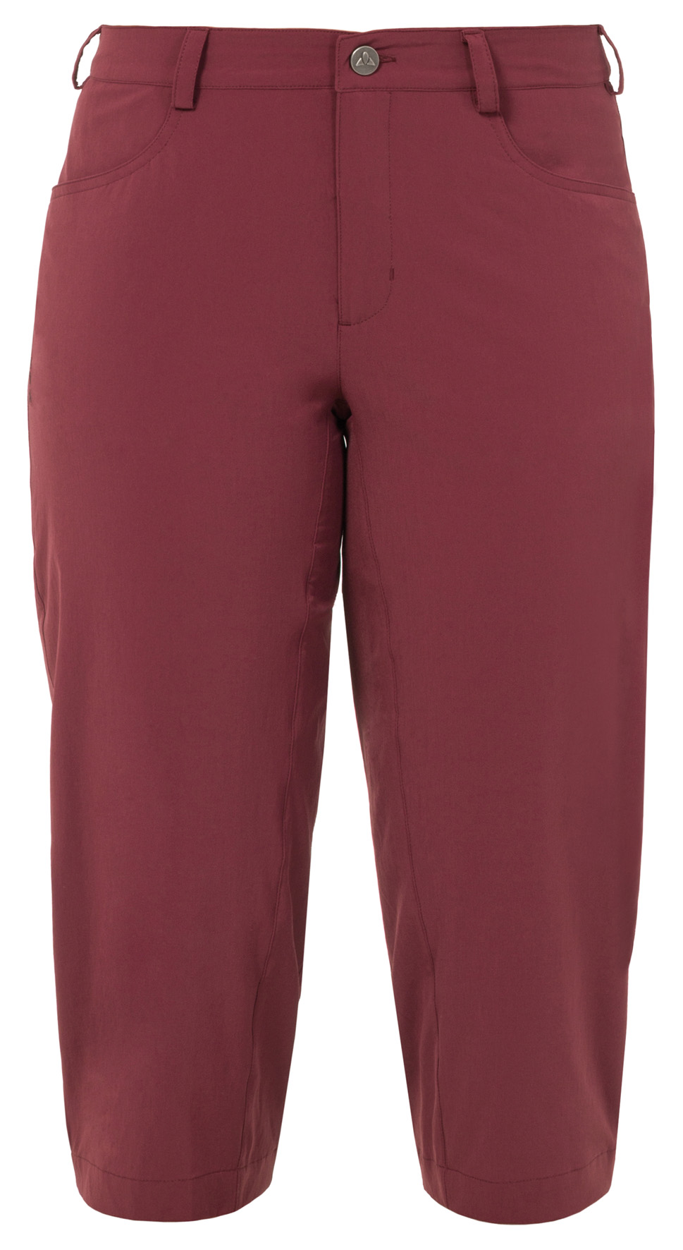 Women´s Yaki 3/4 Pants claret red Größe 46 - schneider-sports