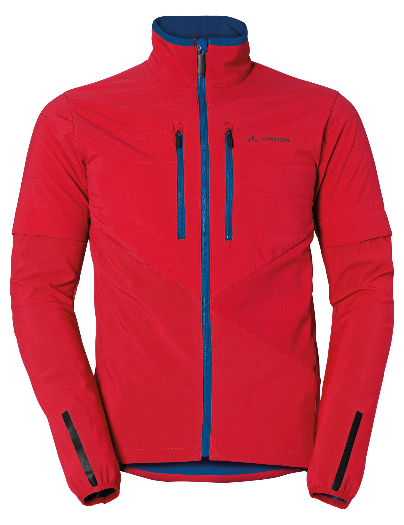 VAUDE Men´s Primasoft Jacket indian red Größe S - schneider-sports