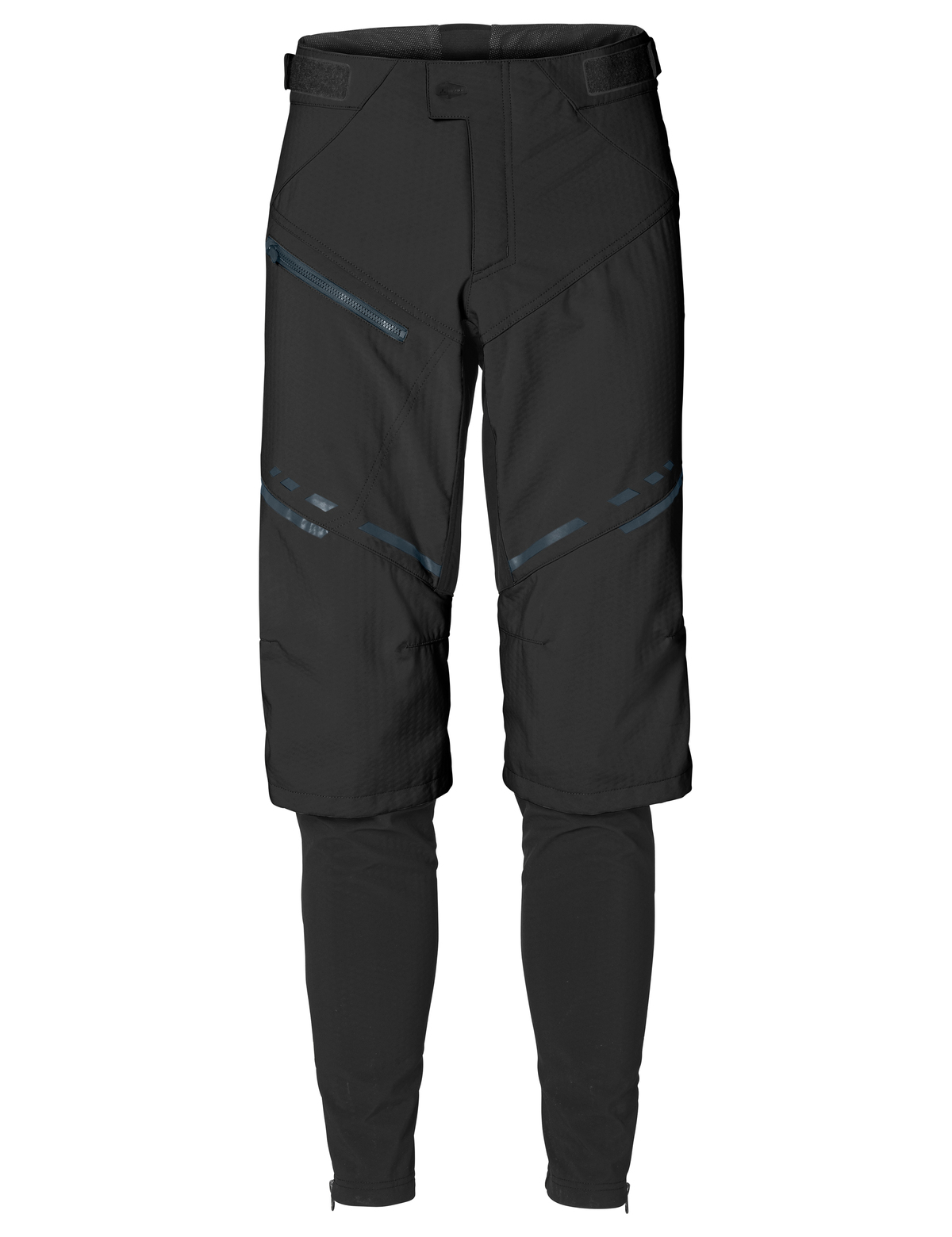 VAUDE Men´s Virt Softshell Pants II black Größe S - schneider-sports