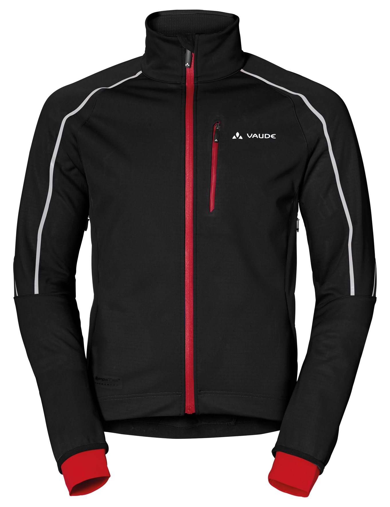 VAUDE Men´s Prio Softshell Jacket II black Größe S - schneider-sports