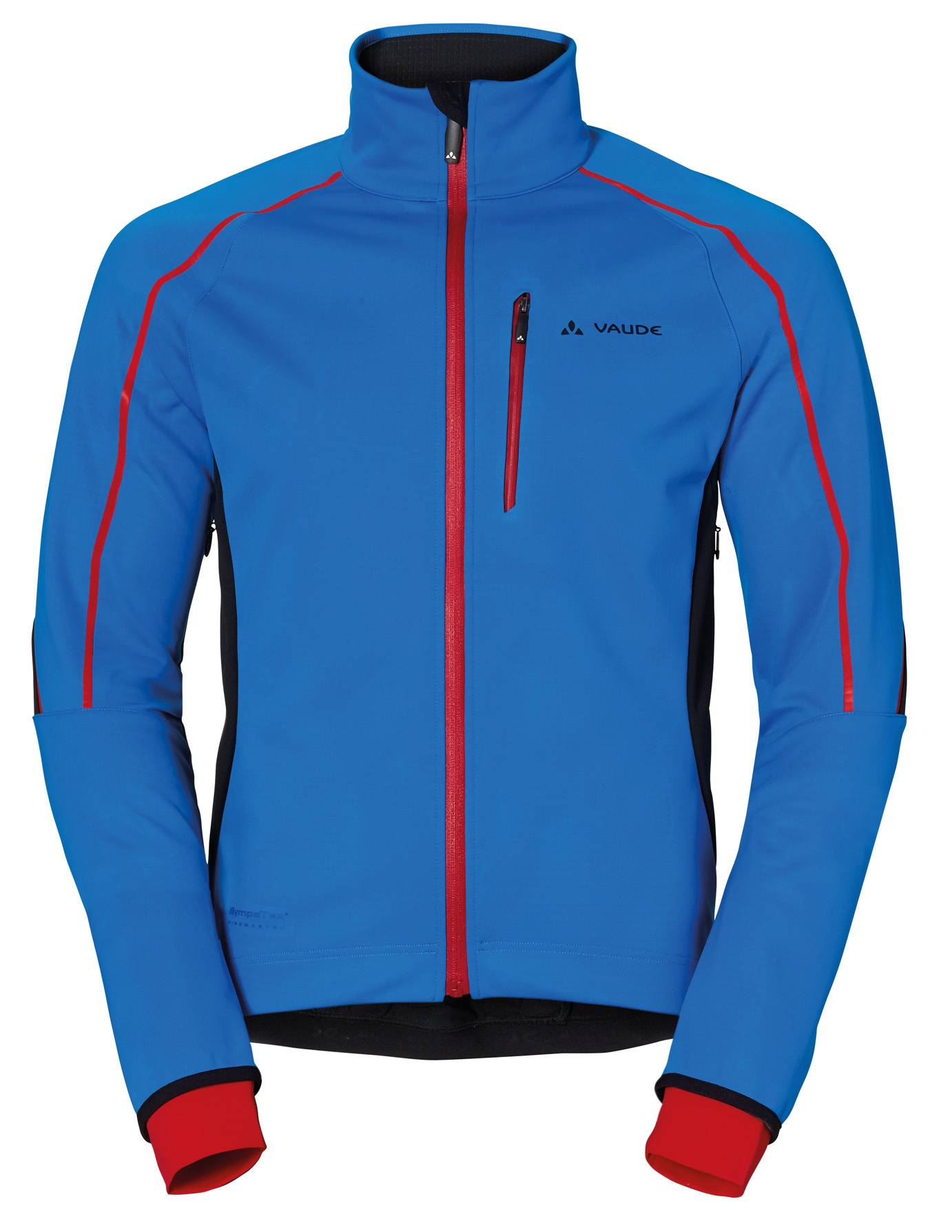 VAUDE Men´s Prio Softshell Jacket II hydro blue Größe S - schneider-sports