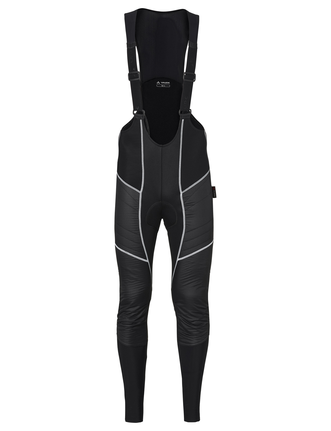 VAUDE Men´s Alphapro Bib Pants black Größe L - schneider-sports