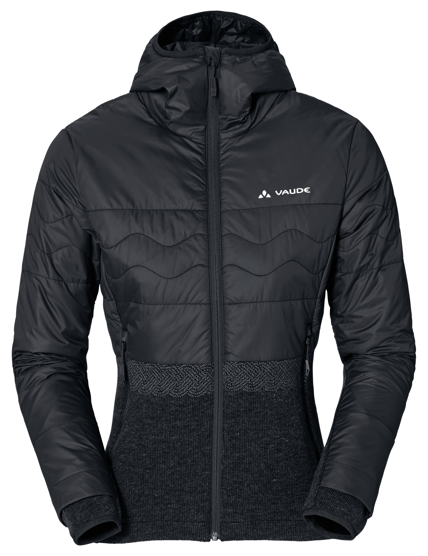 VAUDE Women´s Tirano Padded Jacket black Größe 34 - schneider-sports