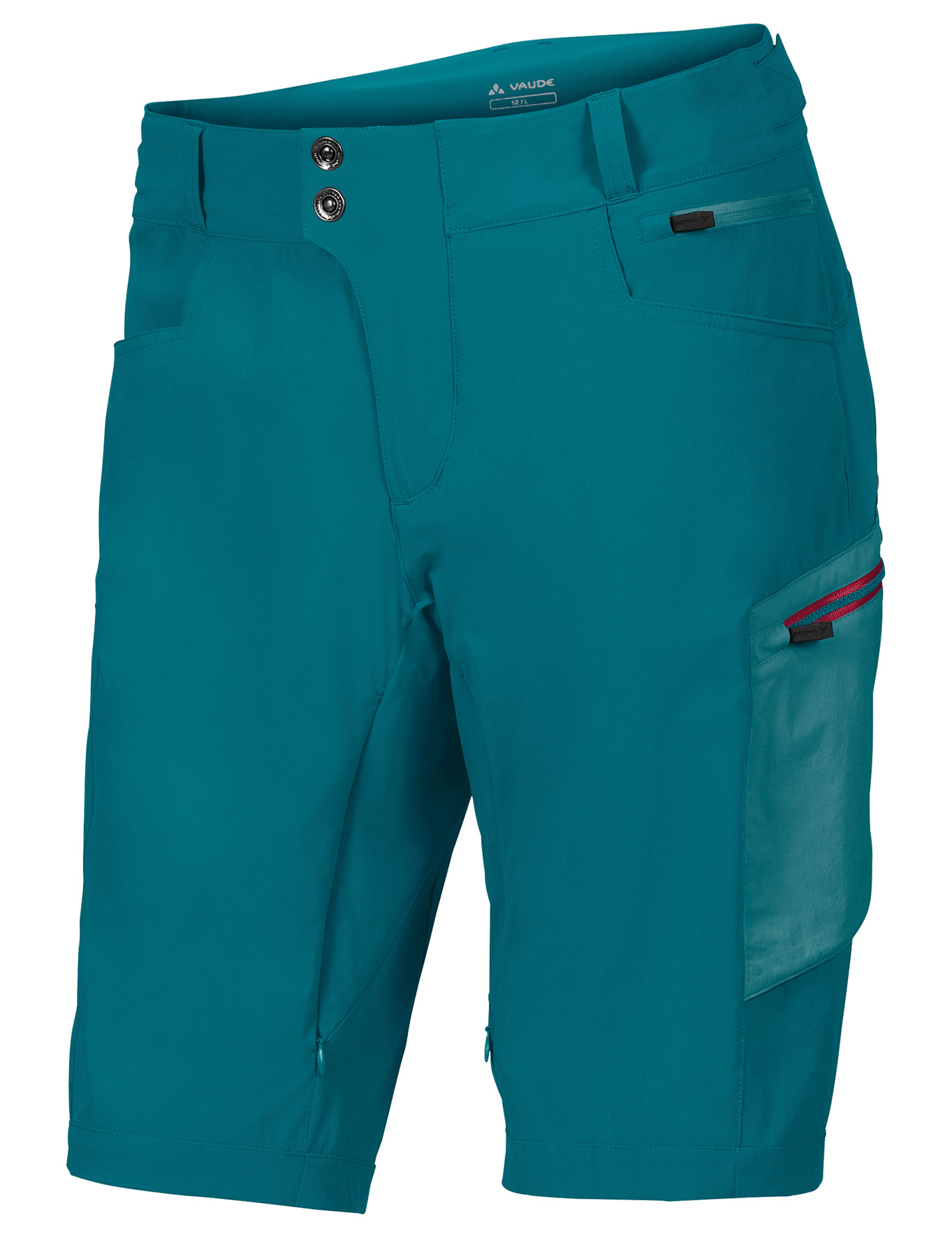 VAUDE Men´s Altissimo Shorts green spinel Größe L - schneider-sports