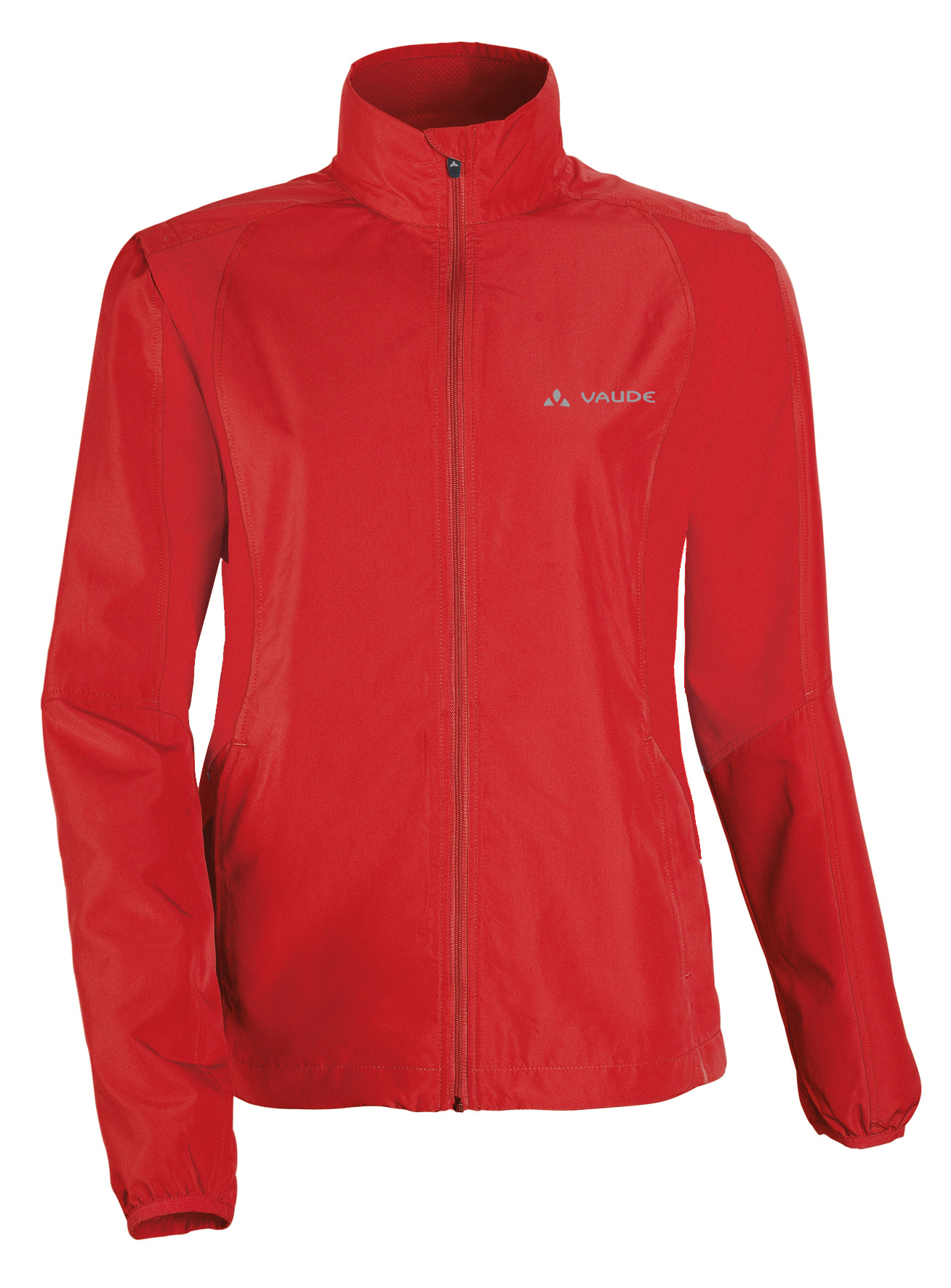VAUDE Women´s Dundee Classic ZO Jacket red Größe 46 - schneider-sports