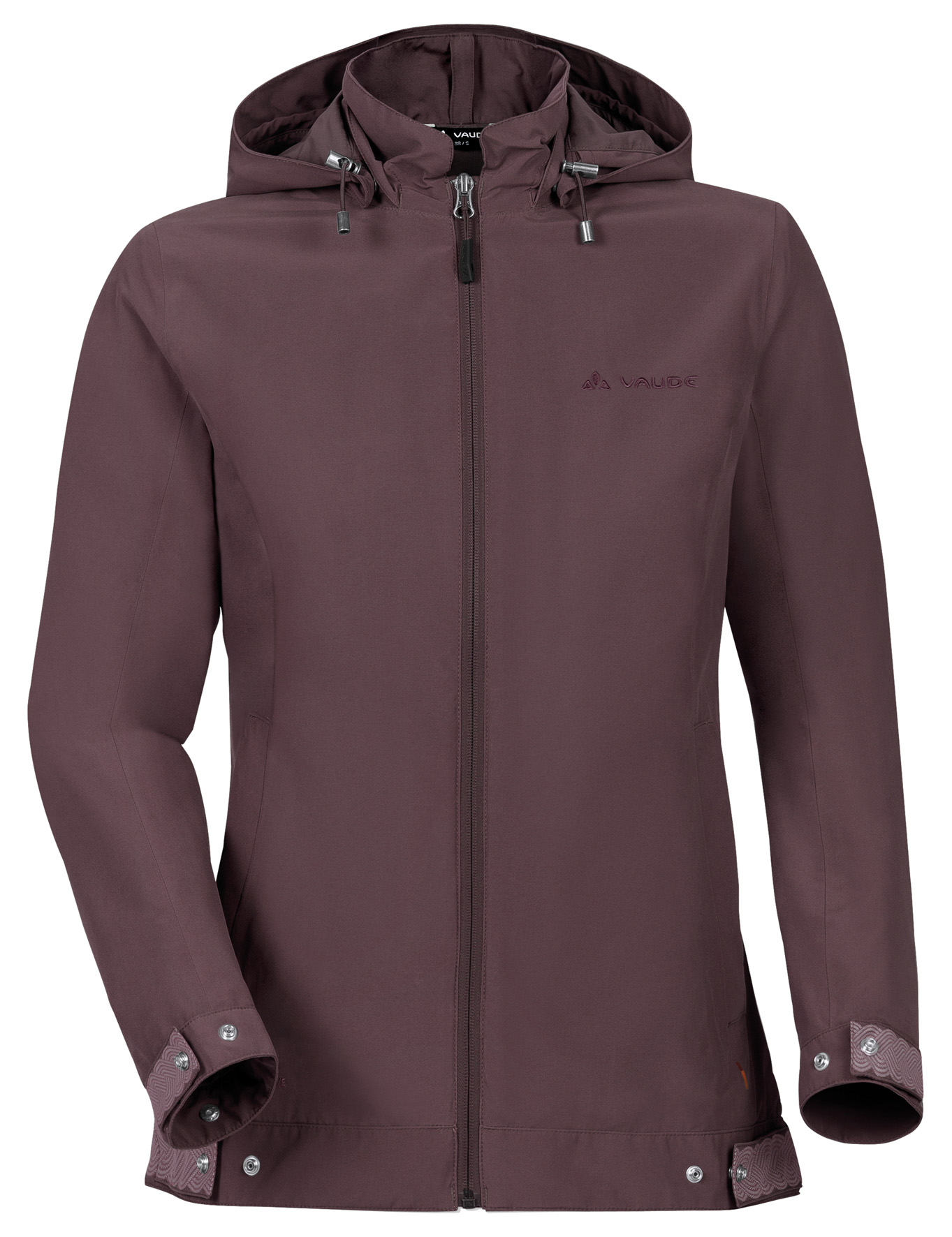 VAUDE Women´s Cyclist Jacket dark plum Größe 36 - schneider-sports