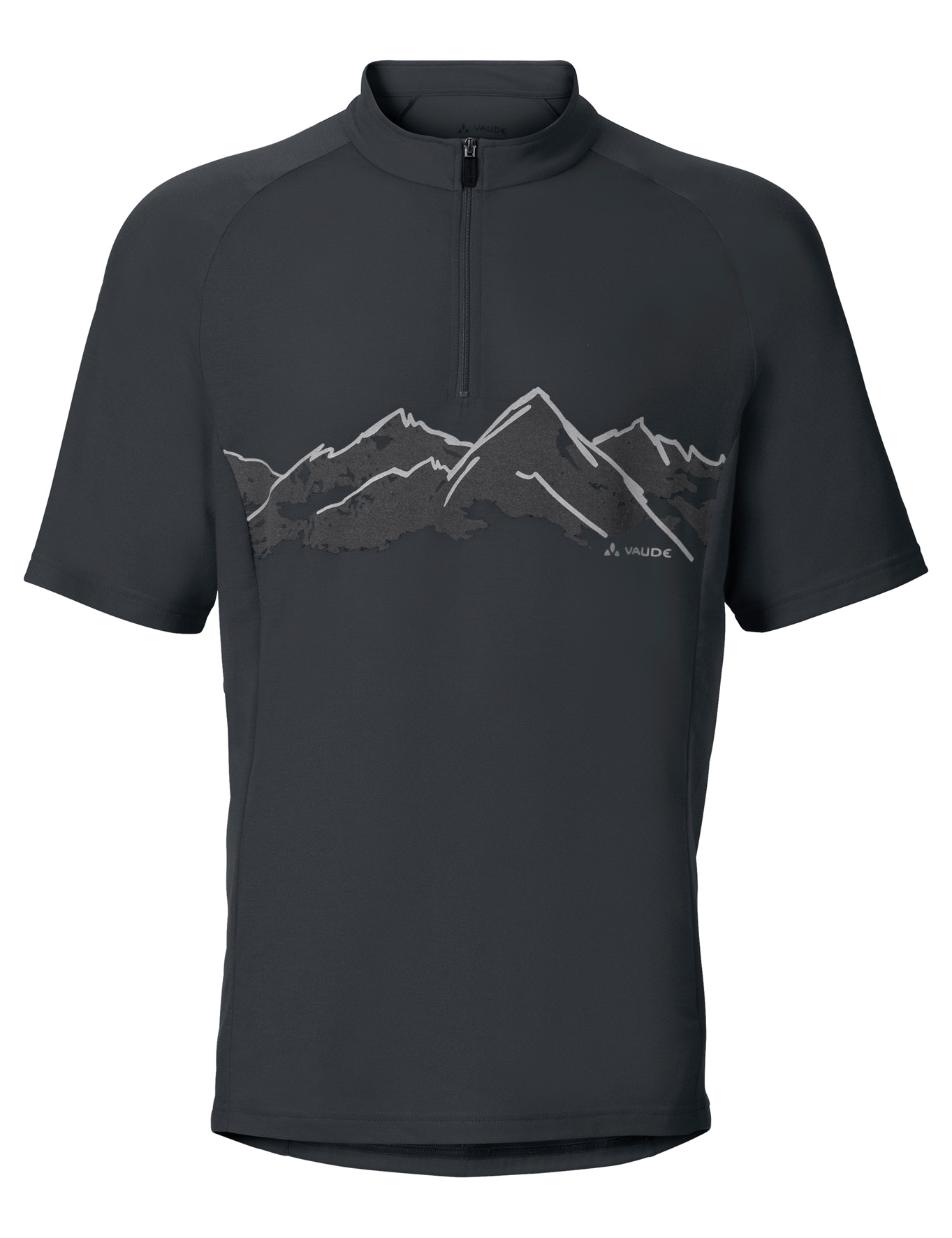 VAUDE Men´s Sentiero Shirt II black Größe S - schneider-sports