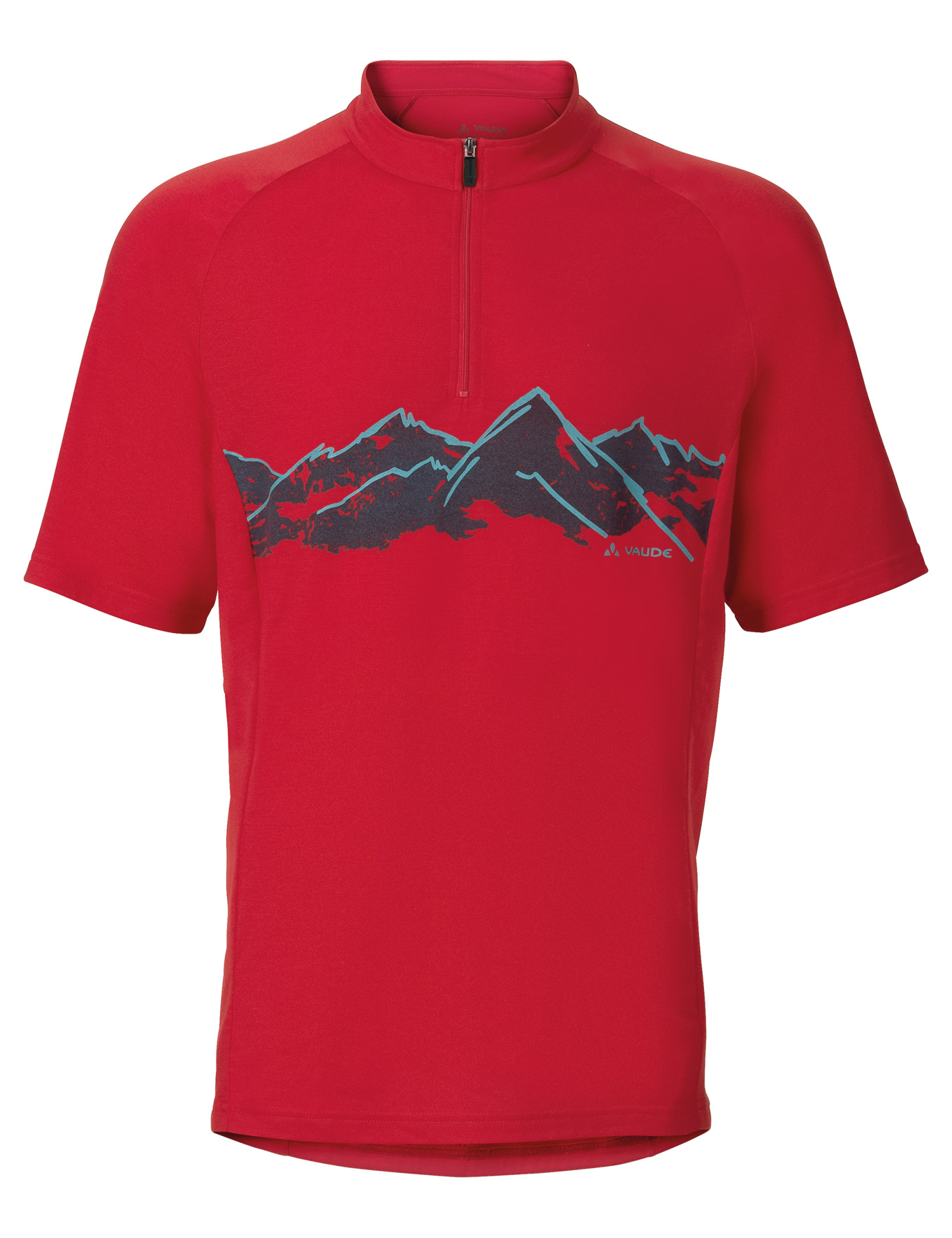 VAUDE Men´s Sentiero Shirt II red Größe S - schneider-sports