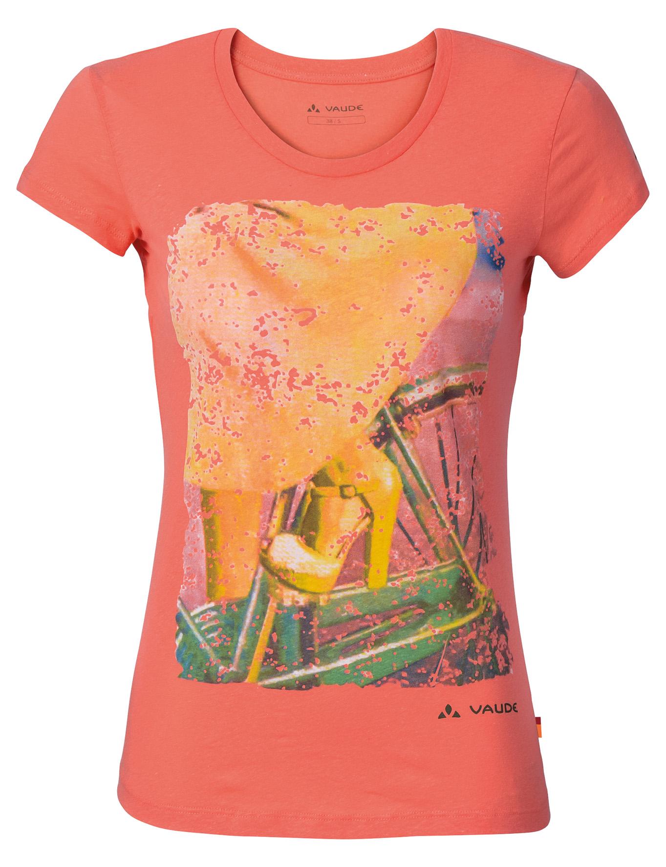 VAUDE Women´s Cyclist T-Shirt apricot Größe 36 - schneider-sports