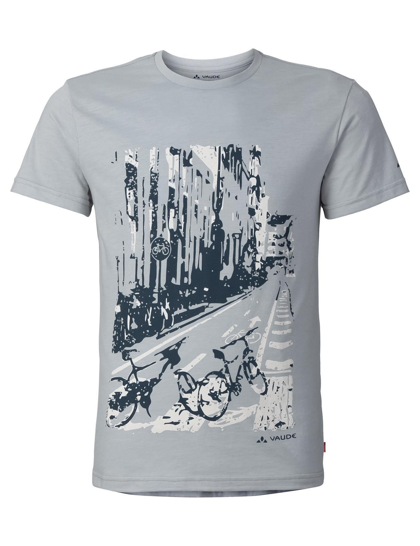 VAUDE Men´s Cyclist T-Shirt pigeon grey Größe S - schneider-sports