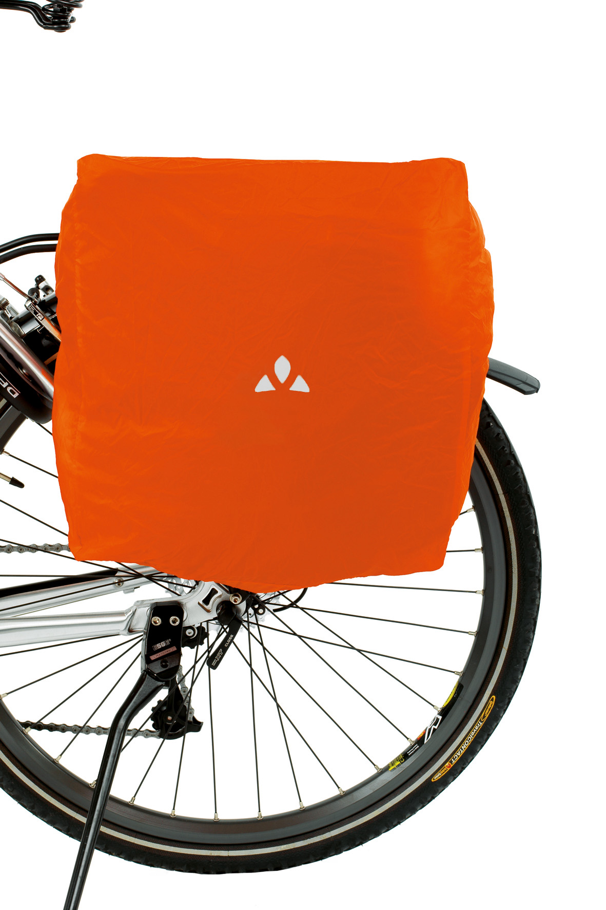 VAUDE Raincover for bike bags orange Größe  - schneider-sports