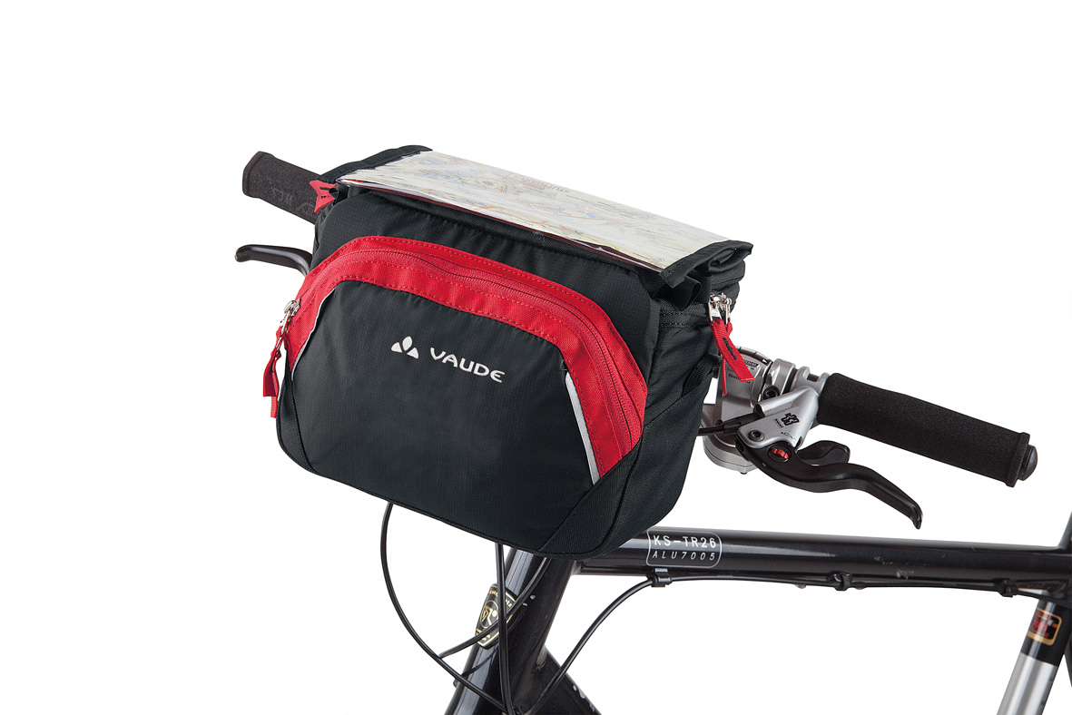 VAUDE Road I black/red  - schneider-sports