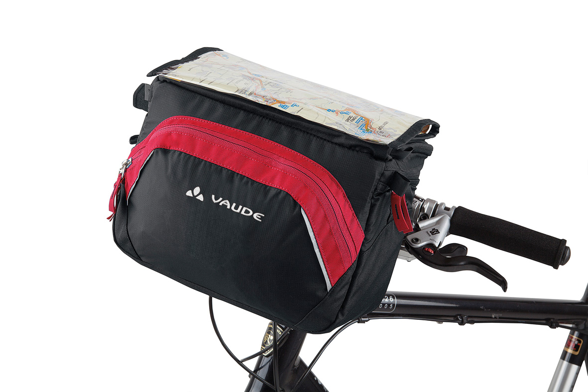 VAUDE Road II black/red  - schneider-sports