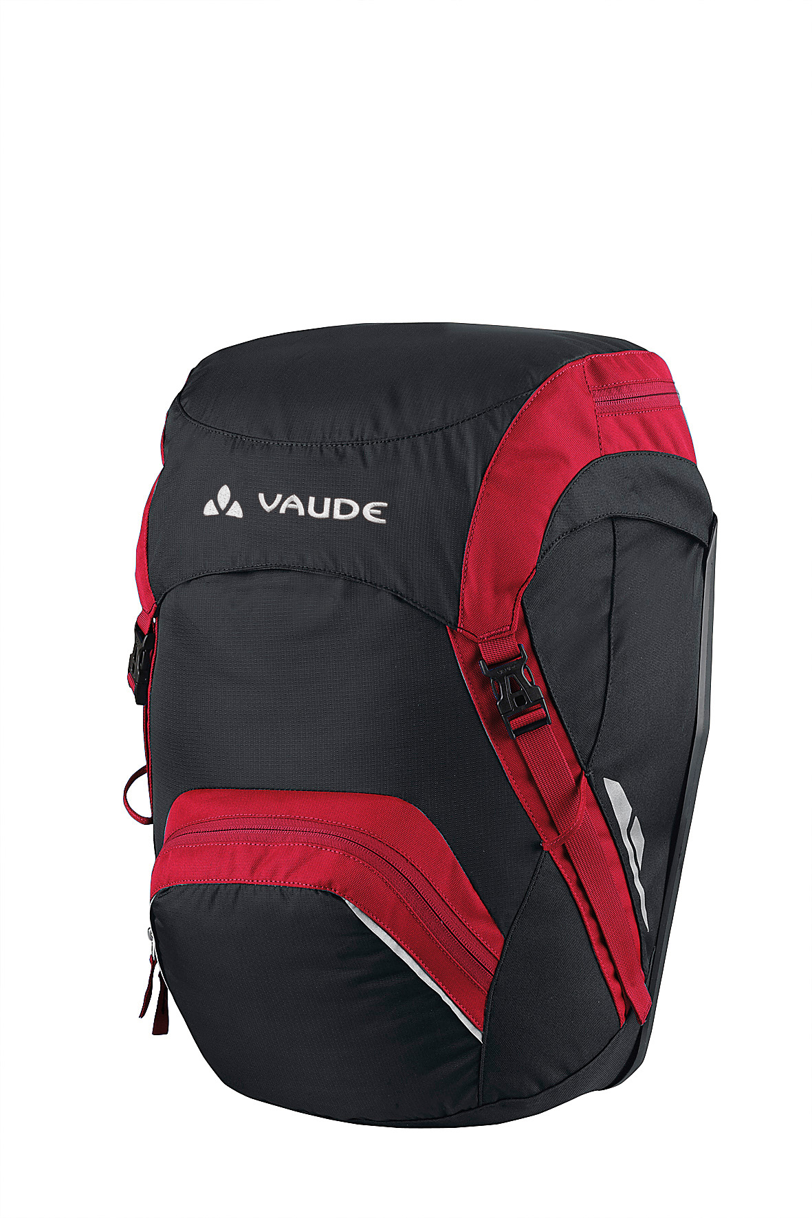 VAUDE Road Master Front black/red  - schneider-sports