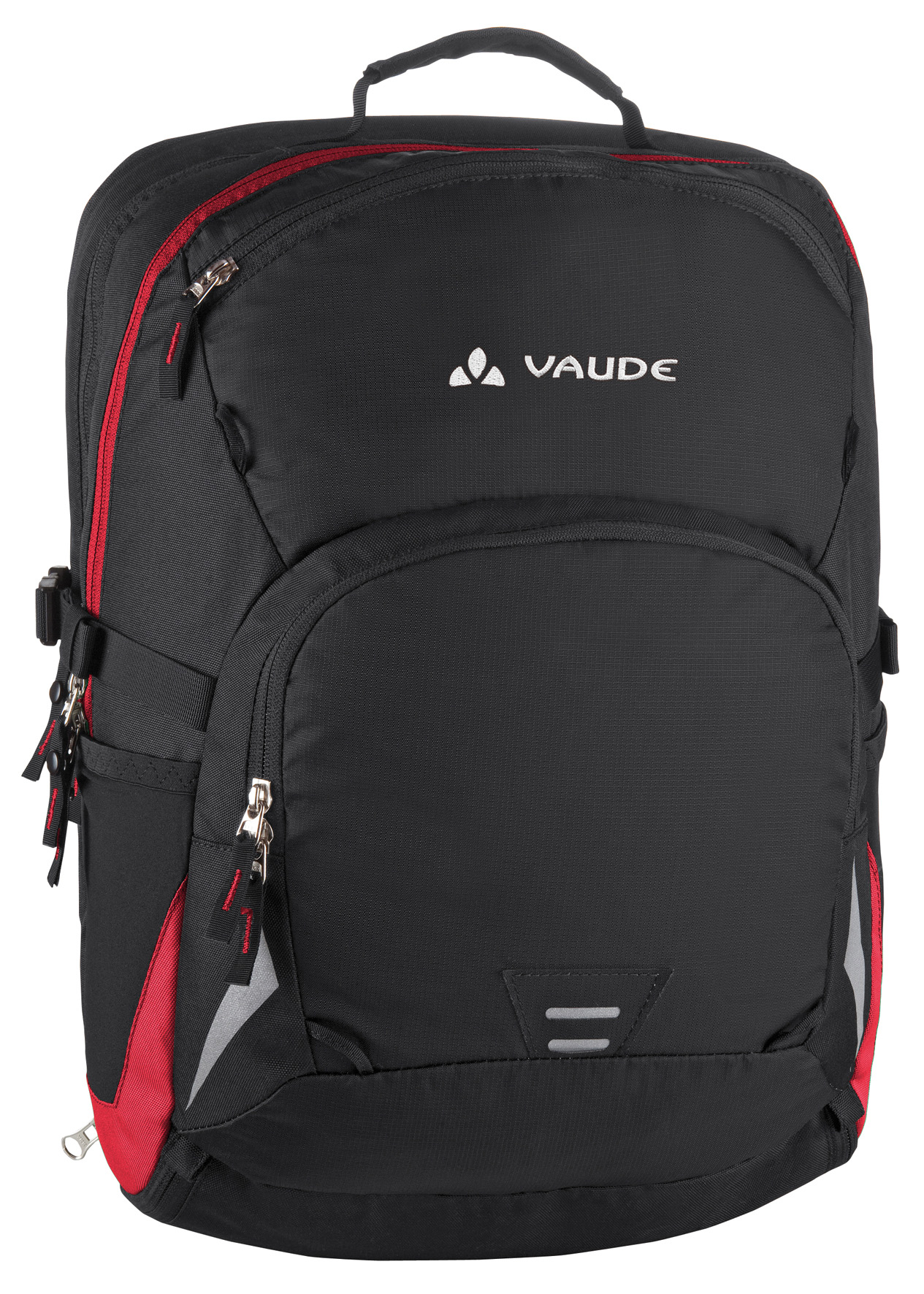 VAUDE Cycle 28 black/red  - schneider-sports