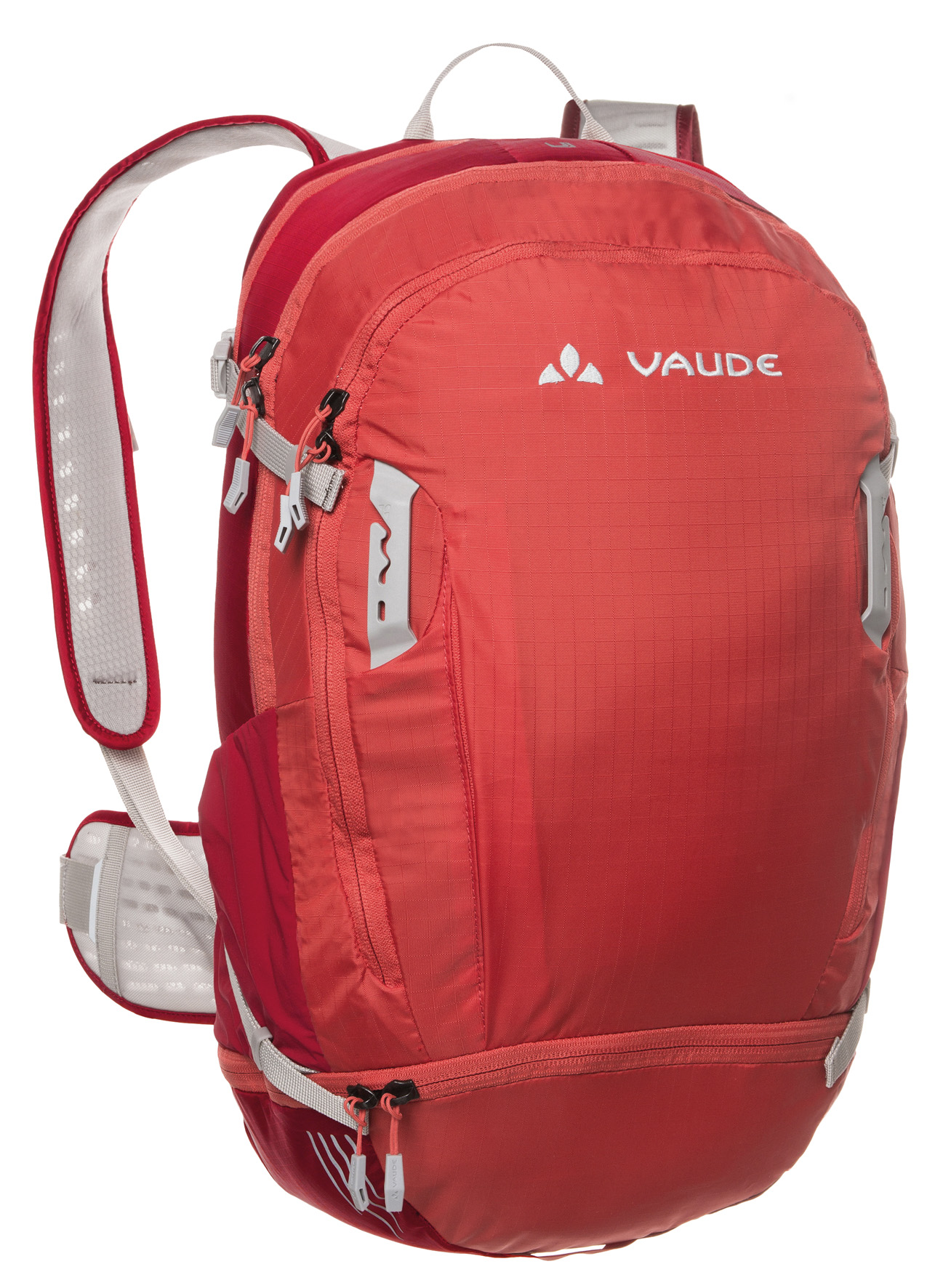 VAUDE Bike Alpin 25+5 indian red  - schneider-sports