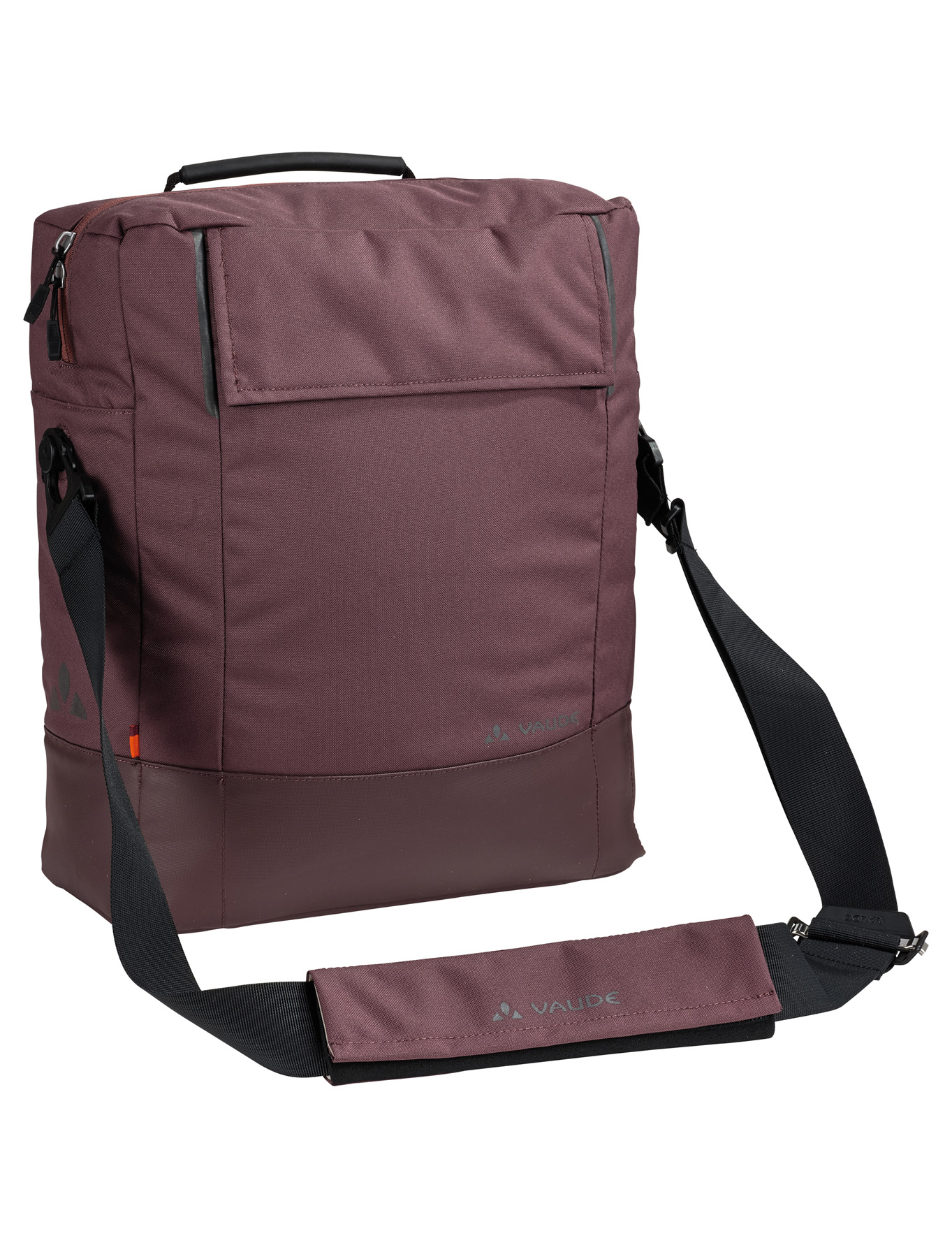 VAUDE Cyclist Bag dark plum  - schneider-sports