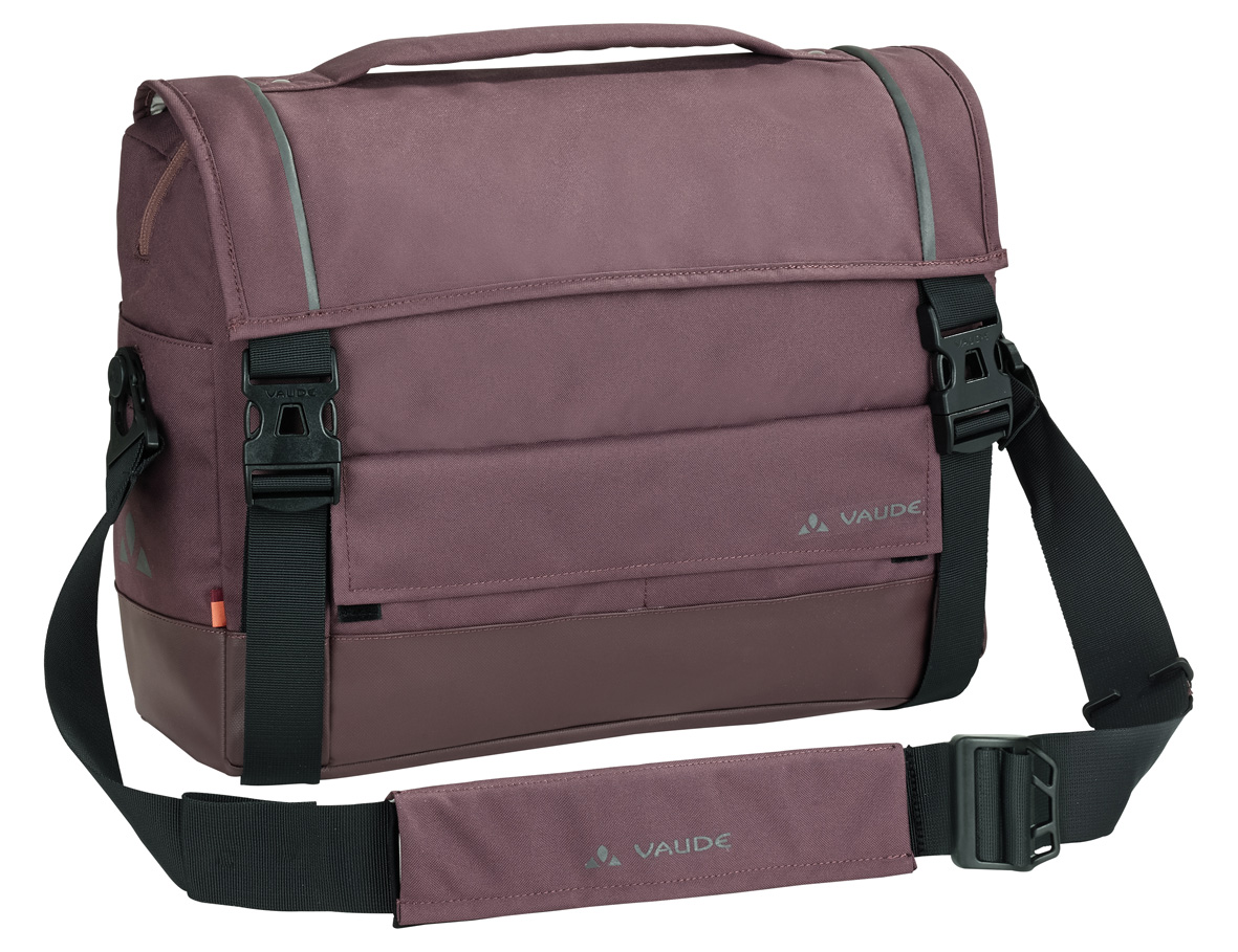 VAUDE Cyclist Briefcase dark plum  - schneider-sports