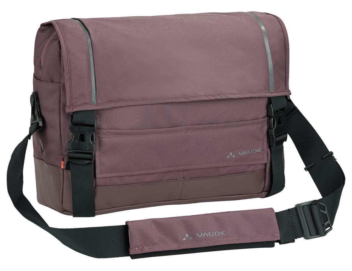 VAUDE Cyclist Messenger M dark plum  - schneider-sports