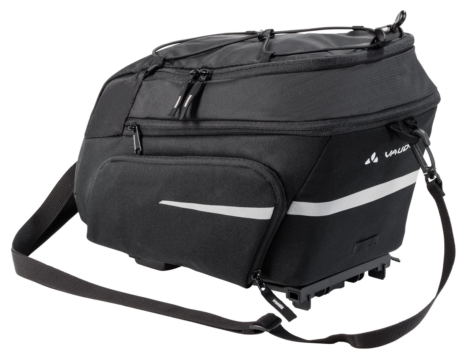 VAUDE Silkroad Plus (i-Rack) black  - 2-Rad-Sport Wehrle