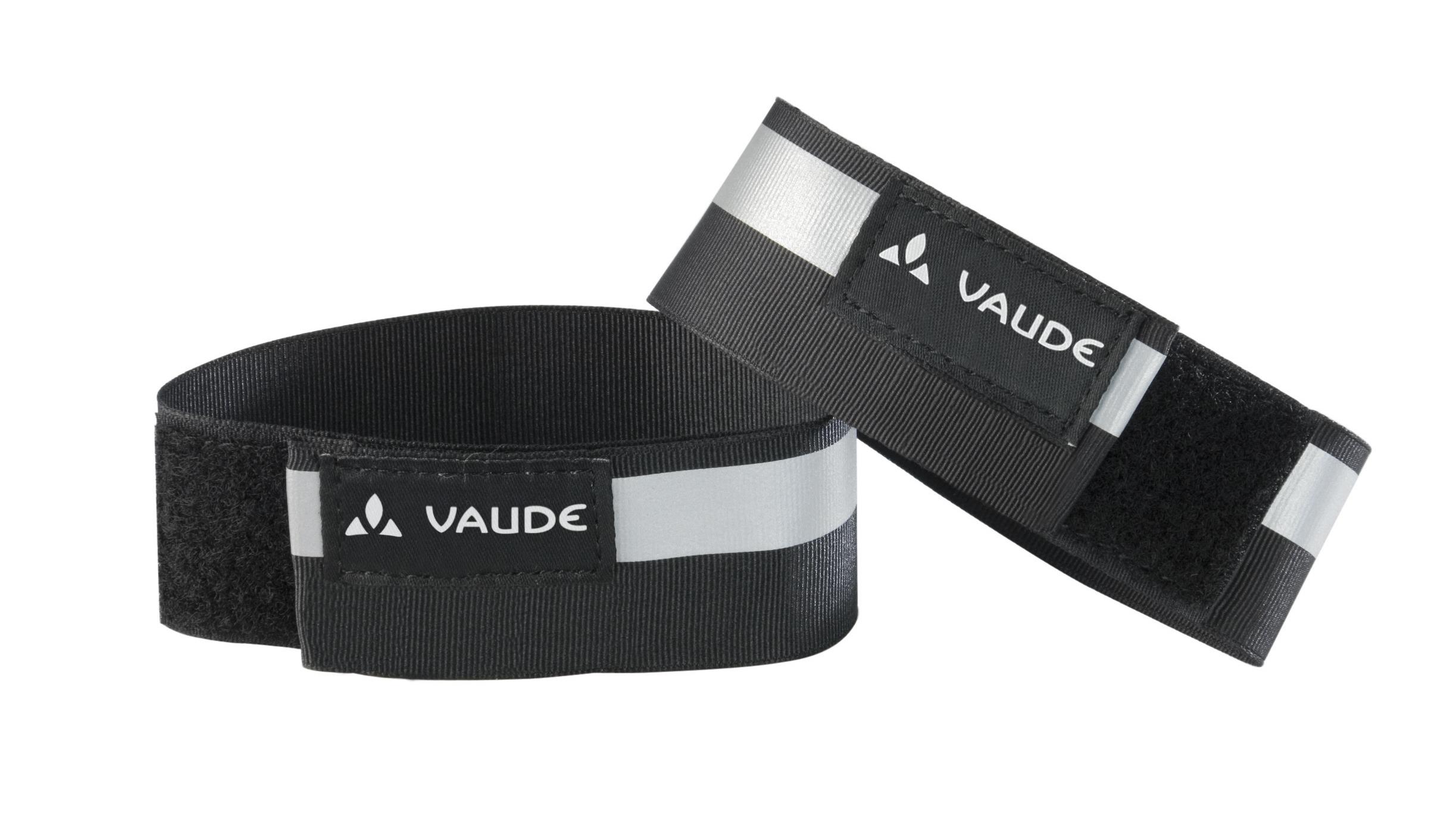 VAUDE Reflective cuffs black Größe  - schneider-sports