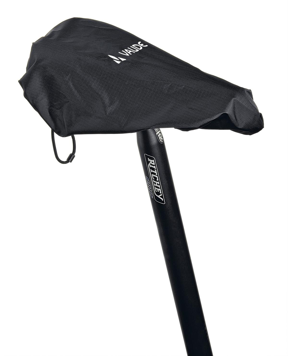 VAUDE Raincover for saddles black Größe  - schneider-sports