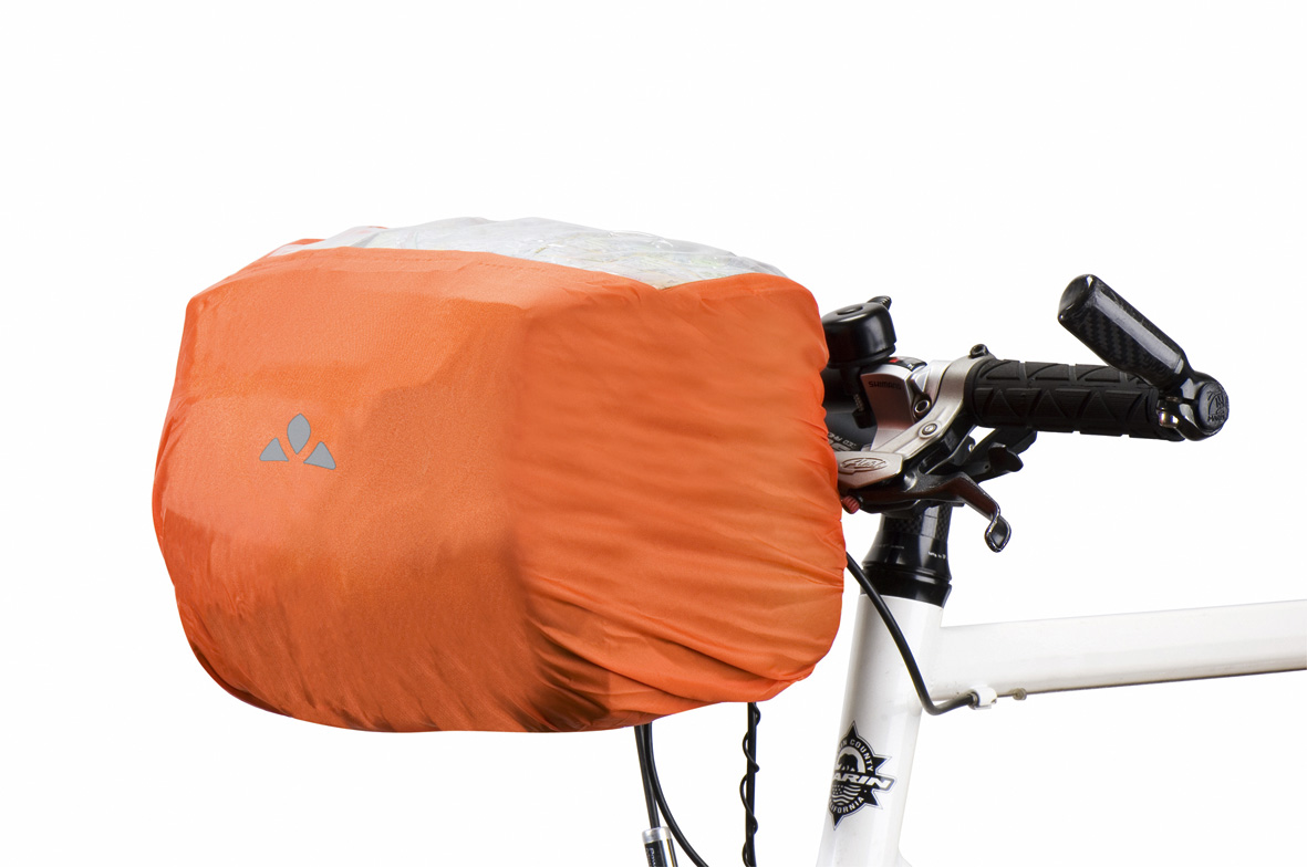 VAUDE Raincover for handle bar bag orange Größe  - schneider-sports