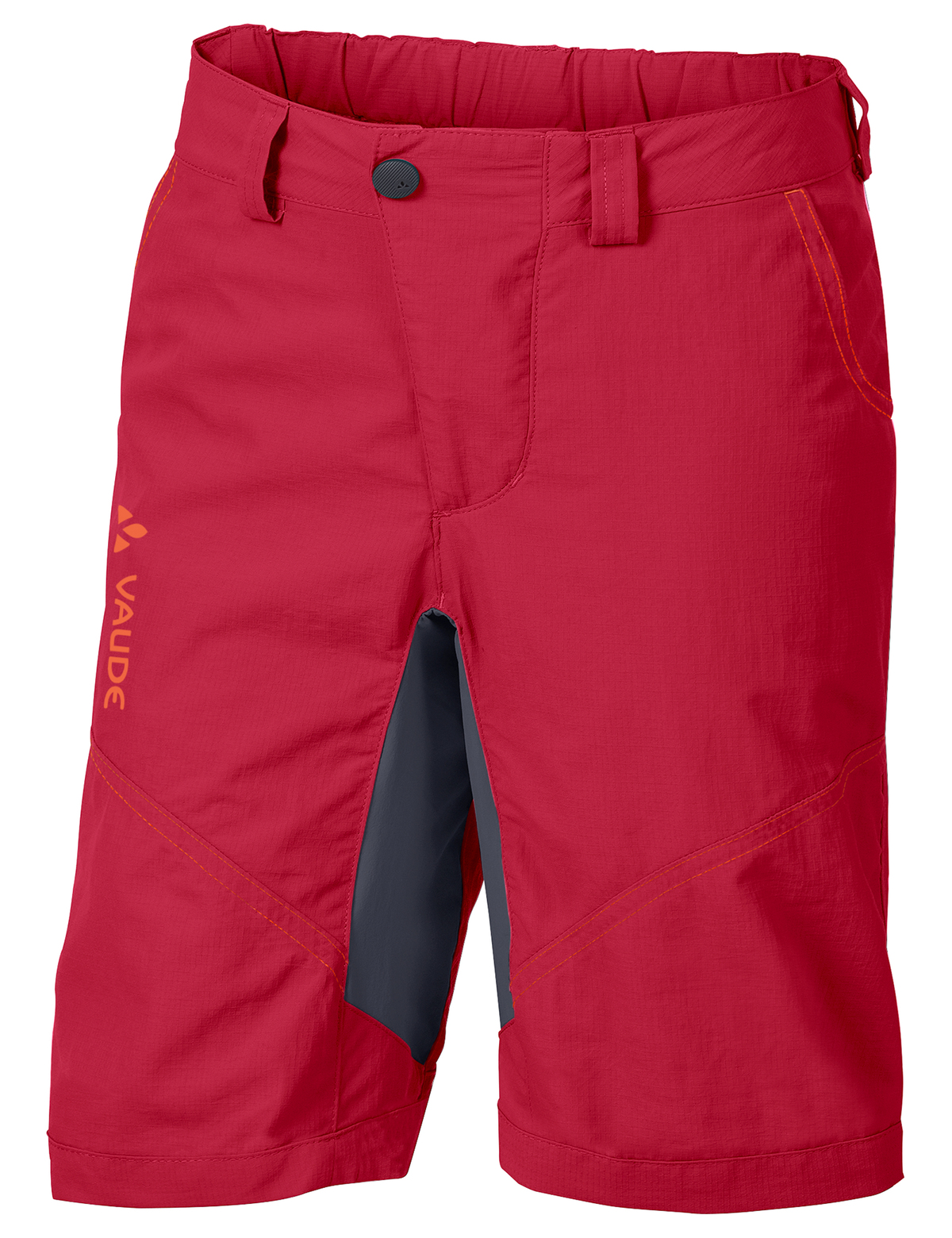 VAUDE Kids Grody Shorts V indian red Größe 158/164 - schneider-sports