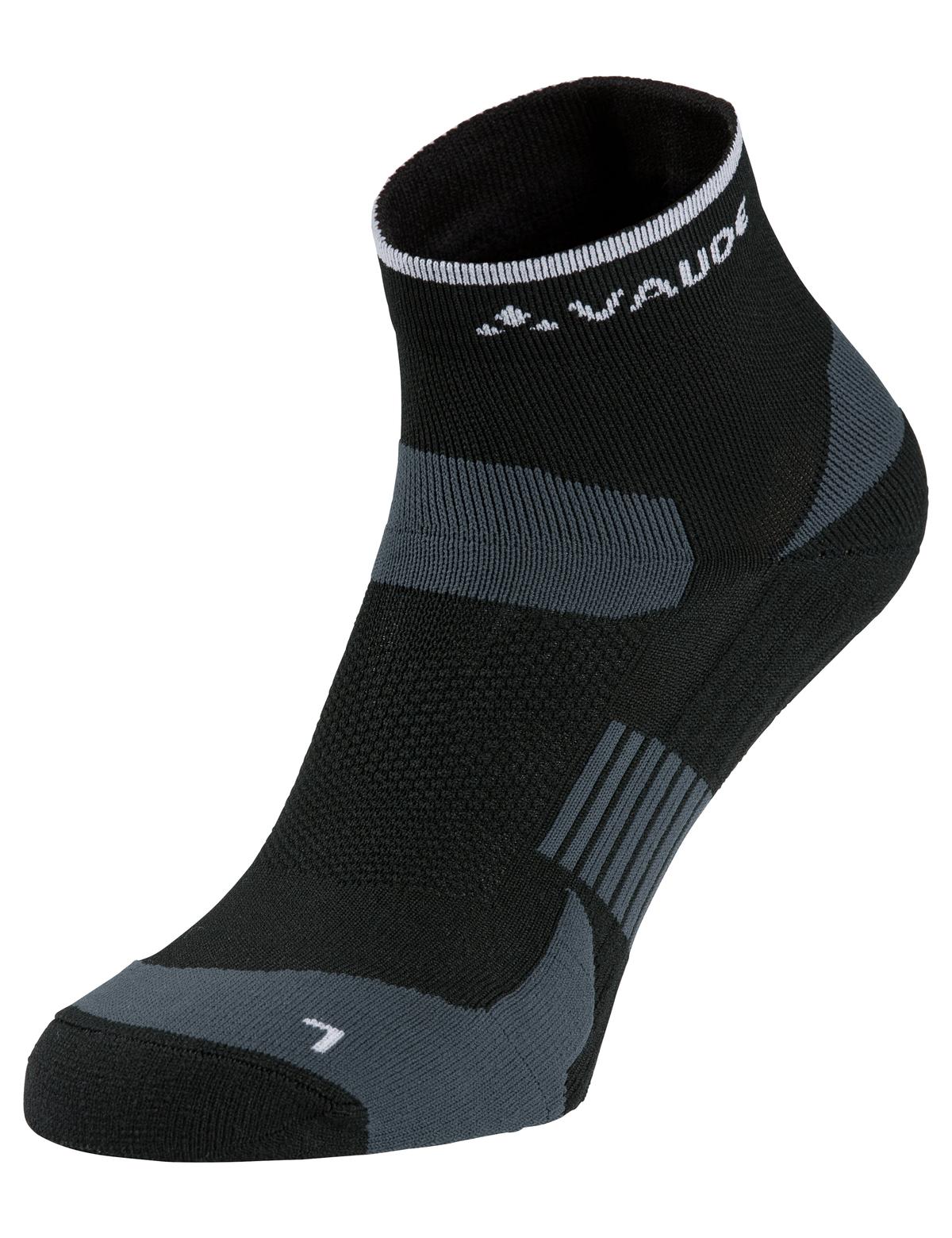 VAUDE Bike Socks Short black Größe 36-38 - Total Normal Bikes - Onlineshop und E-Bike Fahrradgeschäft in St.Ingbert im Saarland