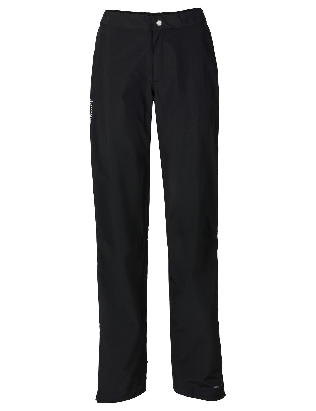 VAUDE Women´s Yaras Rain Pants II black Größe 34-Long - VAUDE Women´s Yaras Rain Pants II black Größe 34-Long