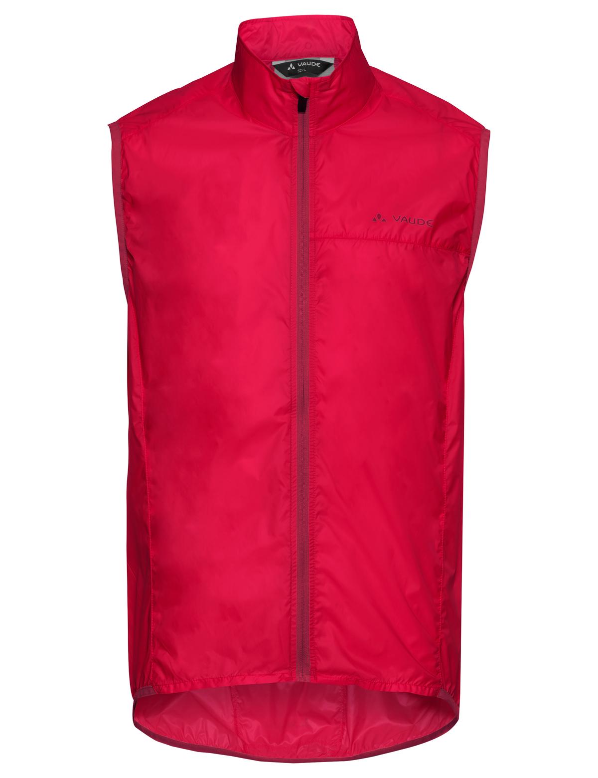 VAUDE Men´s Air Vest III indian red Größe M - 2-Rad-Sport Wehrle